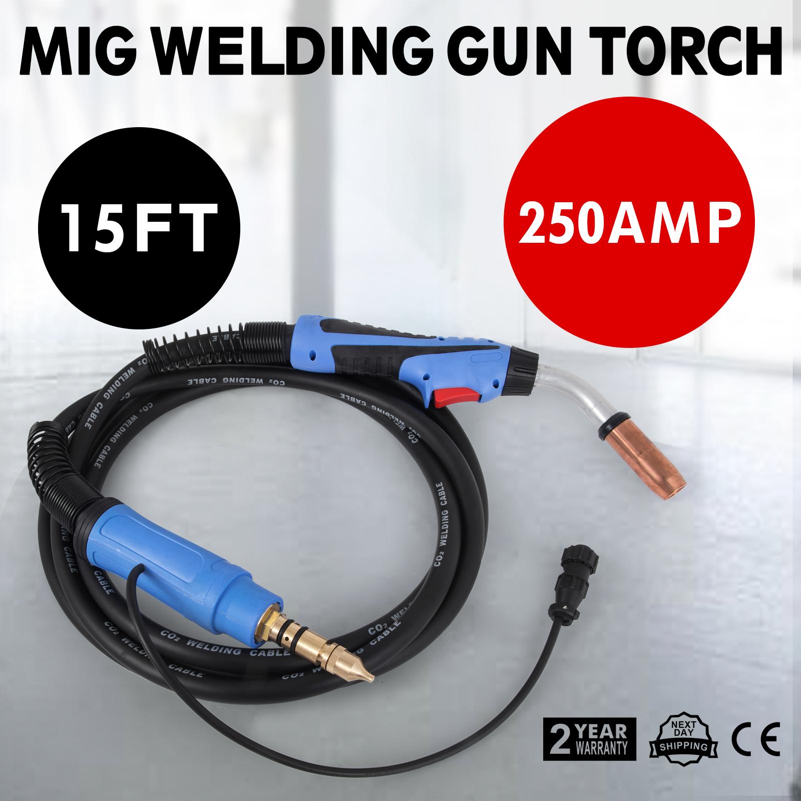 Masterweld Miller 250 amp 169598 Mig Welding Gun Torch Stinger M-25 15 ft M25