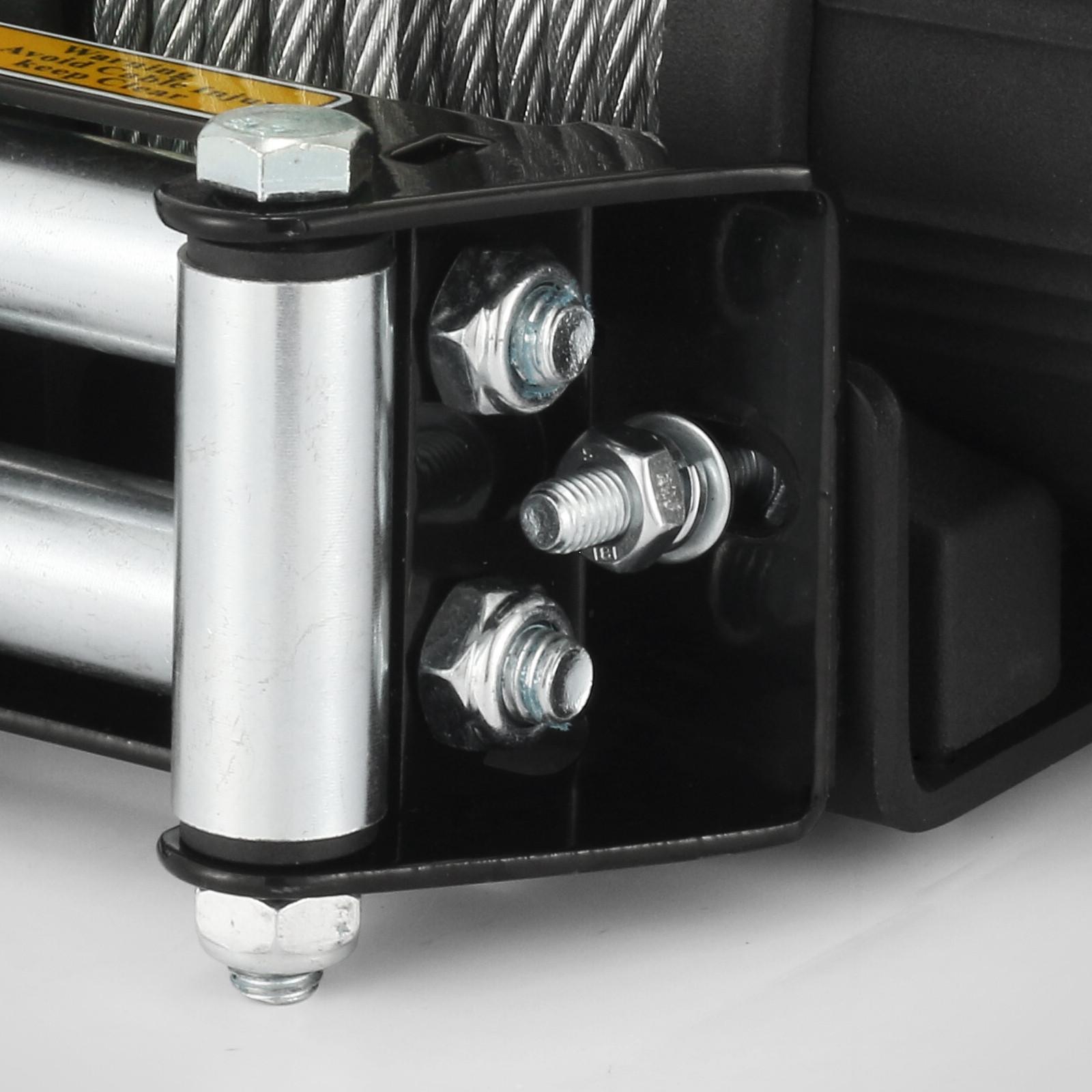 3000-4000-6000-13500LBS-12V-Verricello-elettrico-Filo-Auto-Suv miniatura 34