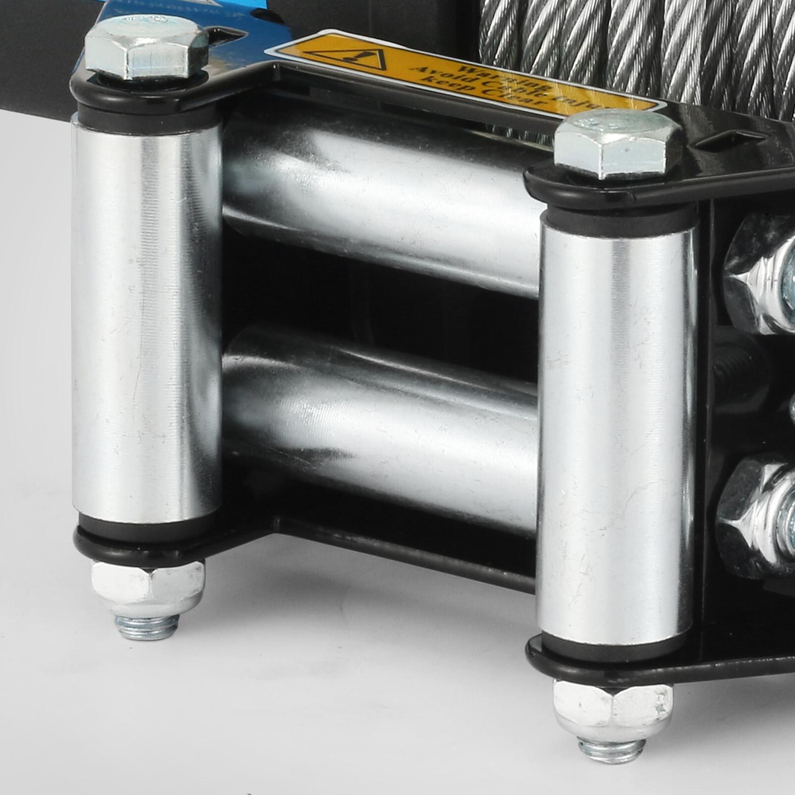 3000-4000-6000-13500LBS-12V-Verricello-elettrico-Filo-Auto-Suv miniatura 35