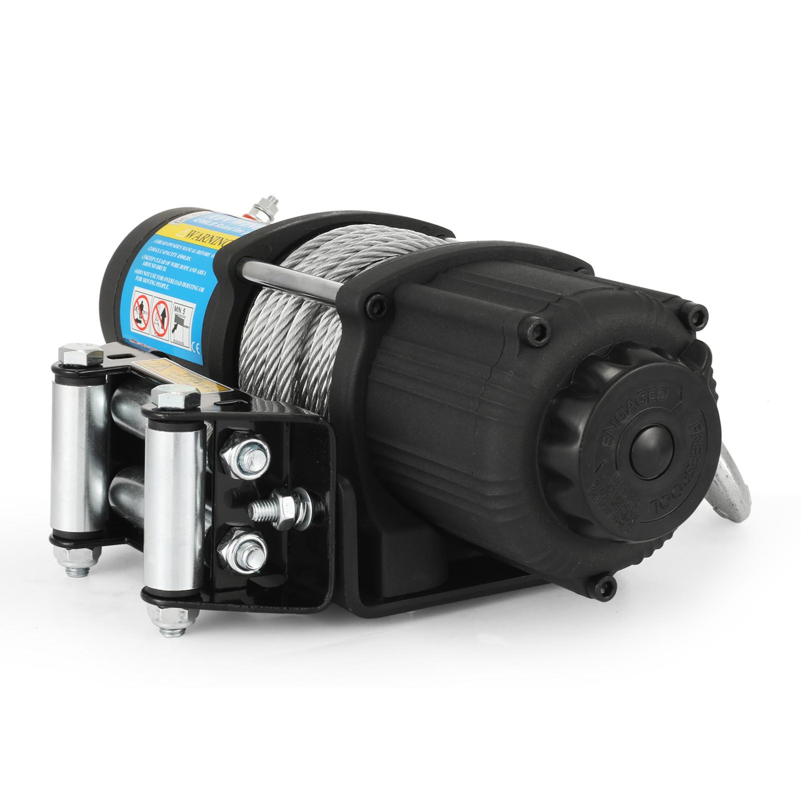 3000-4000-6000-13500LBS-12V-Verricello-elettrico-Filo-Auto-Suv miniatura 27