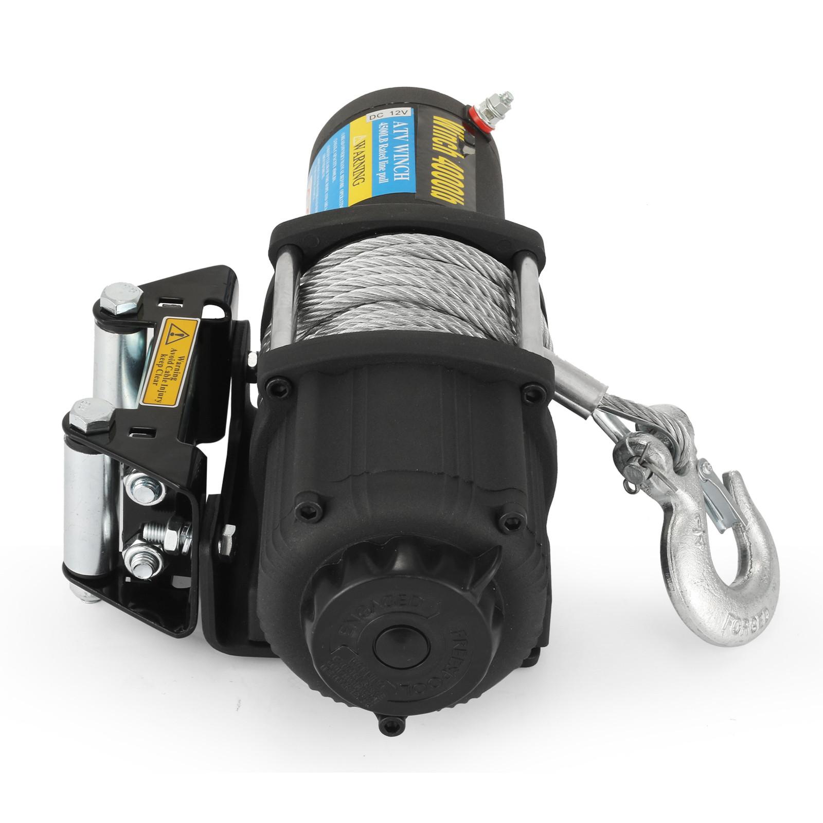 3000-4000-6000-13500LBS-12V-Verricello-elettrico-Filo-Auto-Suv miniatura 28