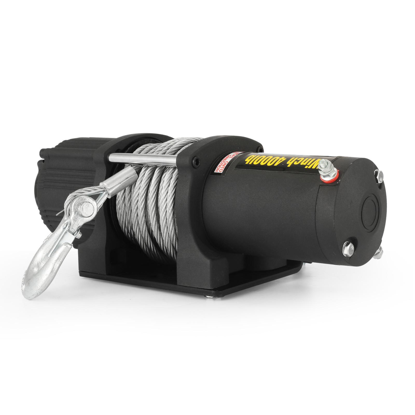 3000-4000-6000-13500LBS-12V-Verricello-elettrico-Filo-Auto-Suv miniatura 31
