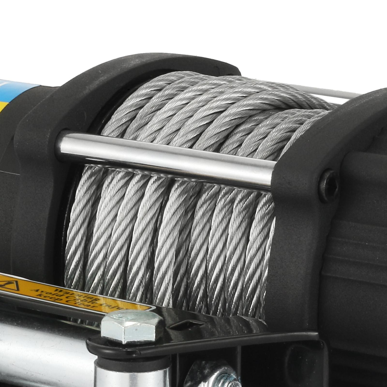 3000-4000-6000-13500LBS-12V-Verricello-elettrico-Filo-Auto-Suv miniatura 32