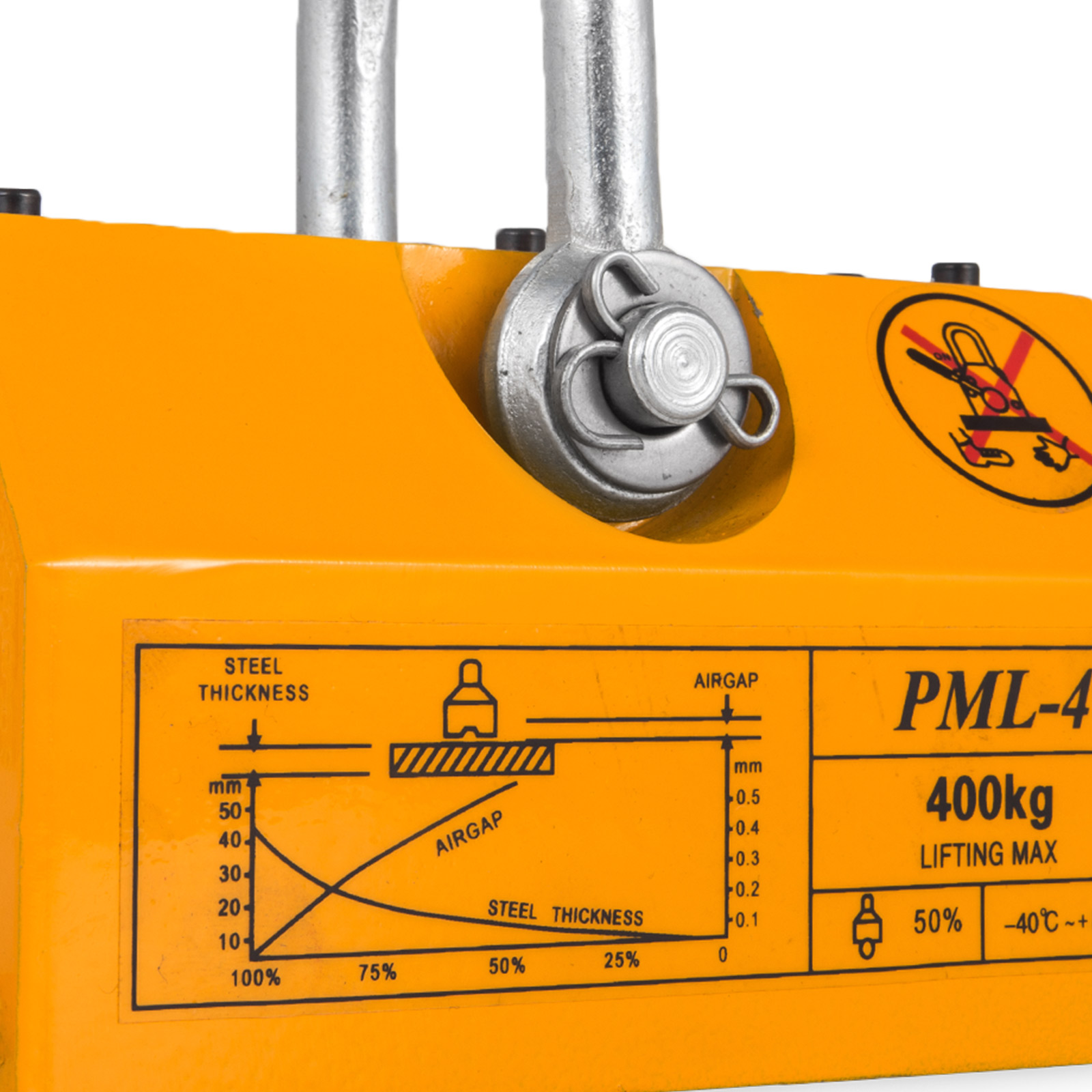 100-300-600-1000KG-Steel-Magnetic-Lifter-Heavy-Duty-Crane-Hoist-Lifting-Magnet miniature 47