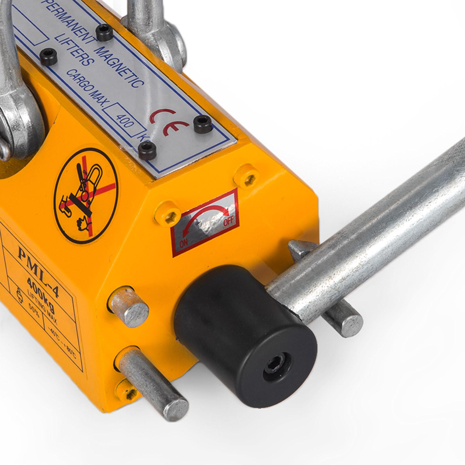 100-300-600-1000KG-Steel-Magnetic-Lifter-Heavy-Duty-Crane-Hoist-Lifting-Magnet miniature 48