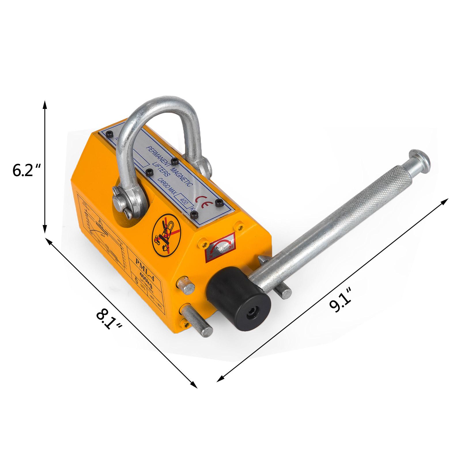 100-300-600-1000KG-Steel-Magnetic-Lifter-Heavy-Duty-Crane-Hoist-Lifting-Magnet miniature 38