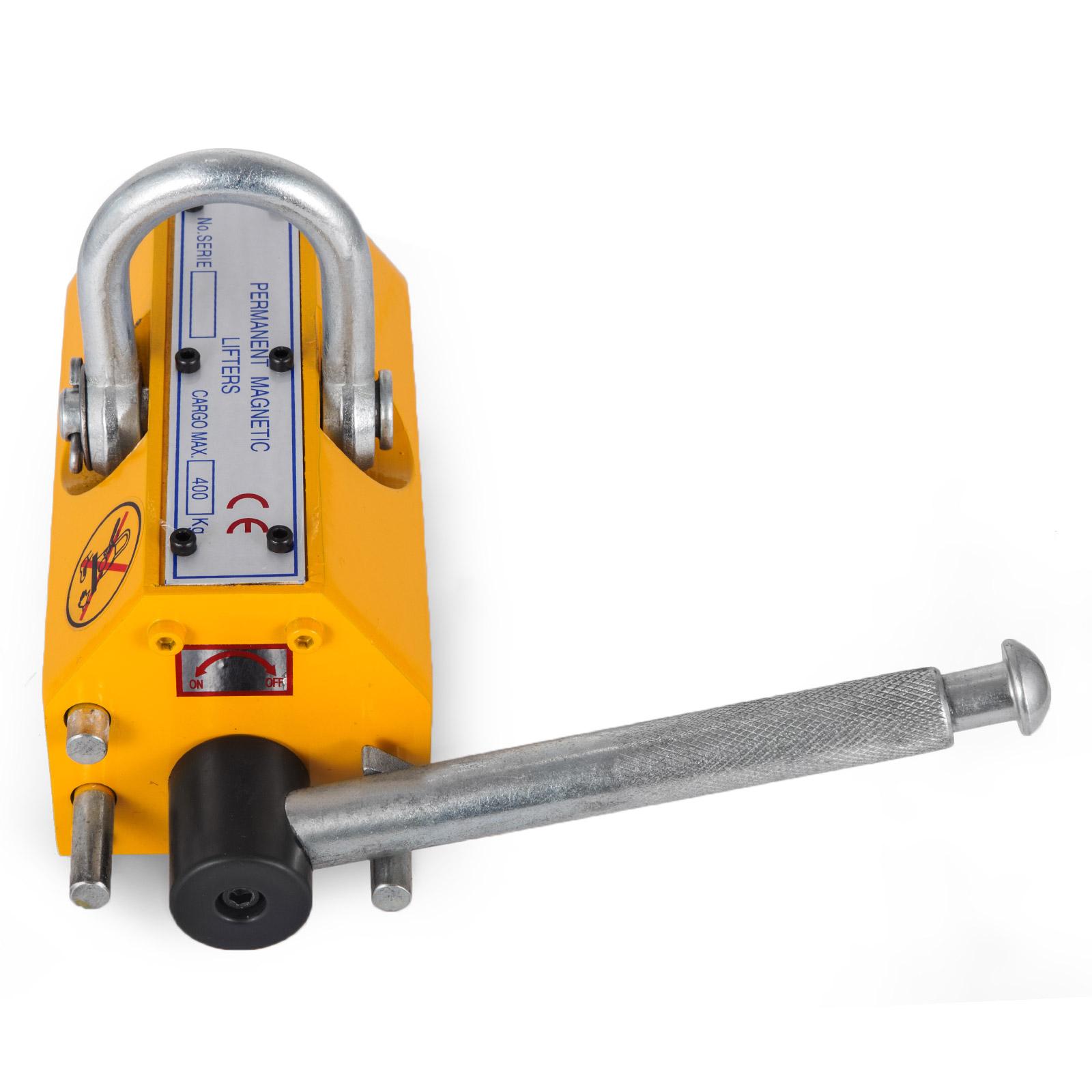 100-300-600-1000KG-Steel-Magnetic-Lifter-Heavy-Duty-Crane-Hoist-Lifting-Magnet miniature 39