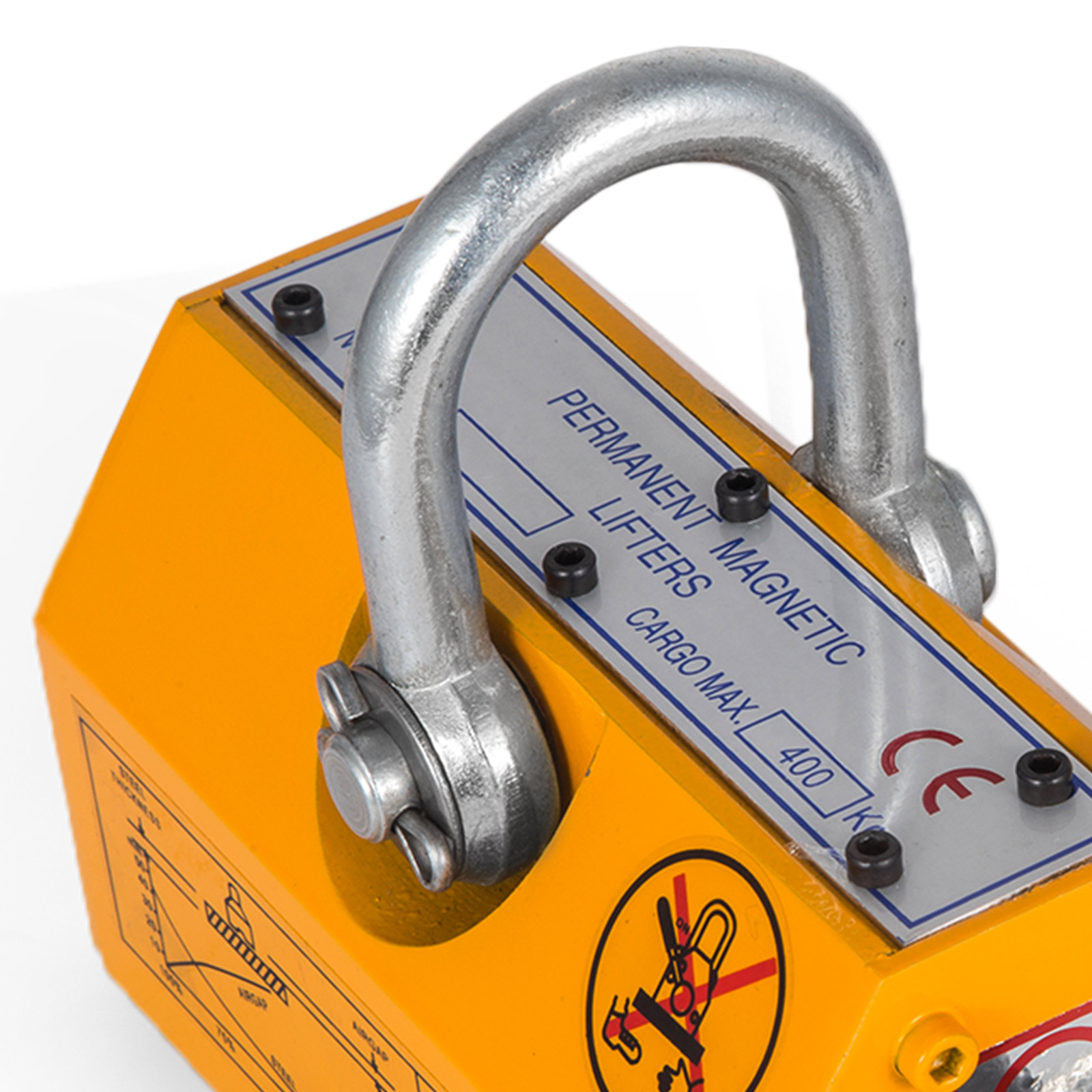 100-300-600-1000KG-Steel-Magnetic-Lifter-Heavy-Duty-Crane-Hoist-Lifting-Magnet miniature 43