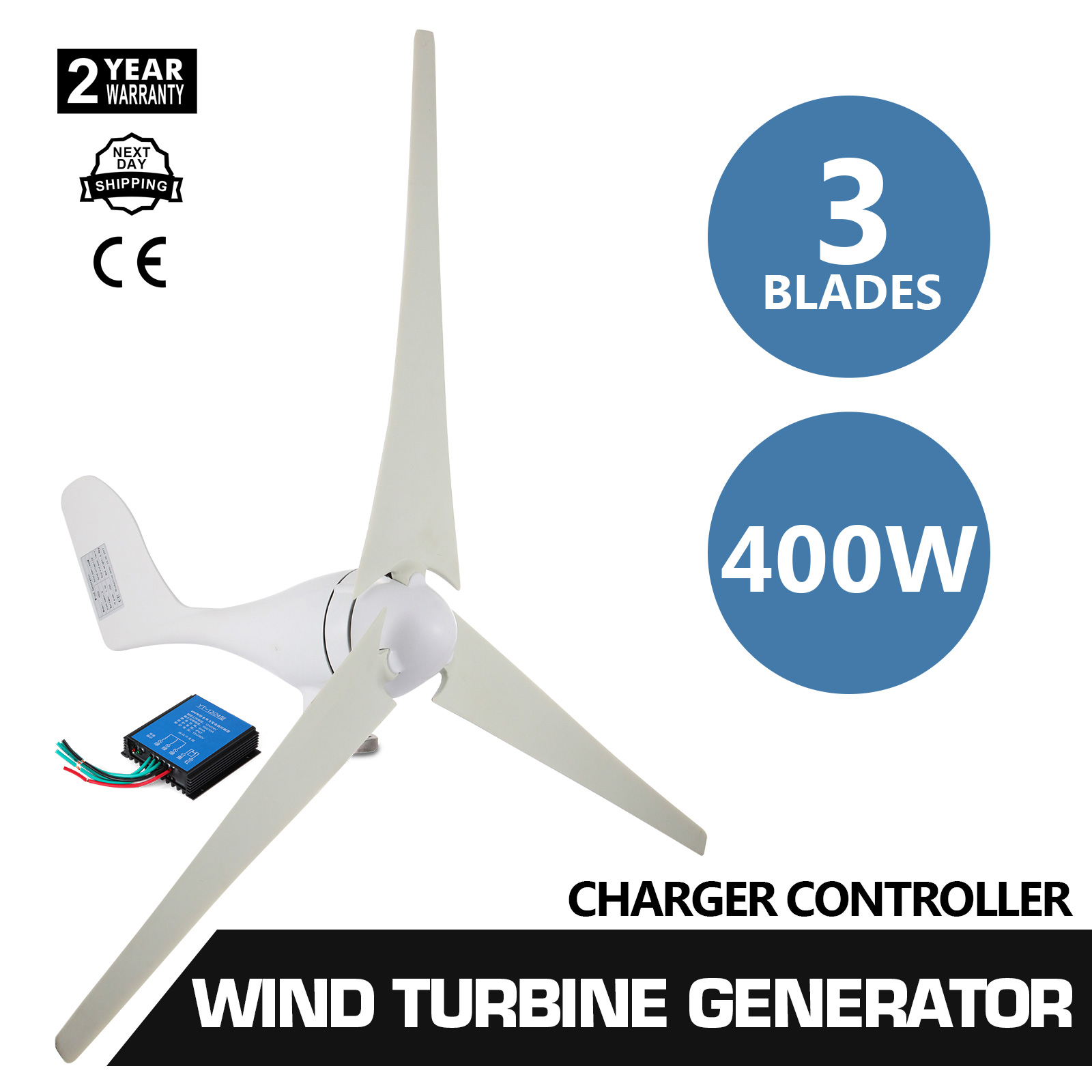 Wind Turbine Controller Ebay Generator Ac Wiring Diagrams 400w 20a Charger Home Power