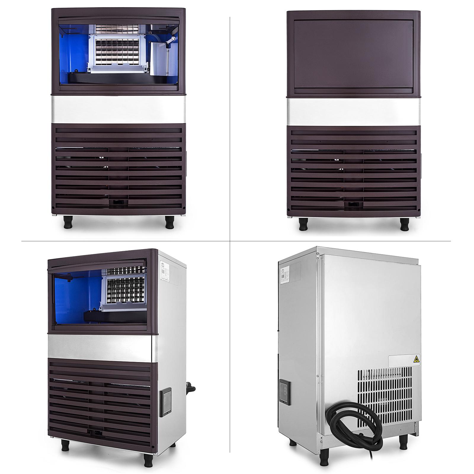 40-55-KG-Intelligent-Ice-Cube-Making-Machine-Bars-Heat-Insulation-Ice-Spoon thumbnail 15