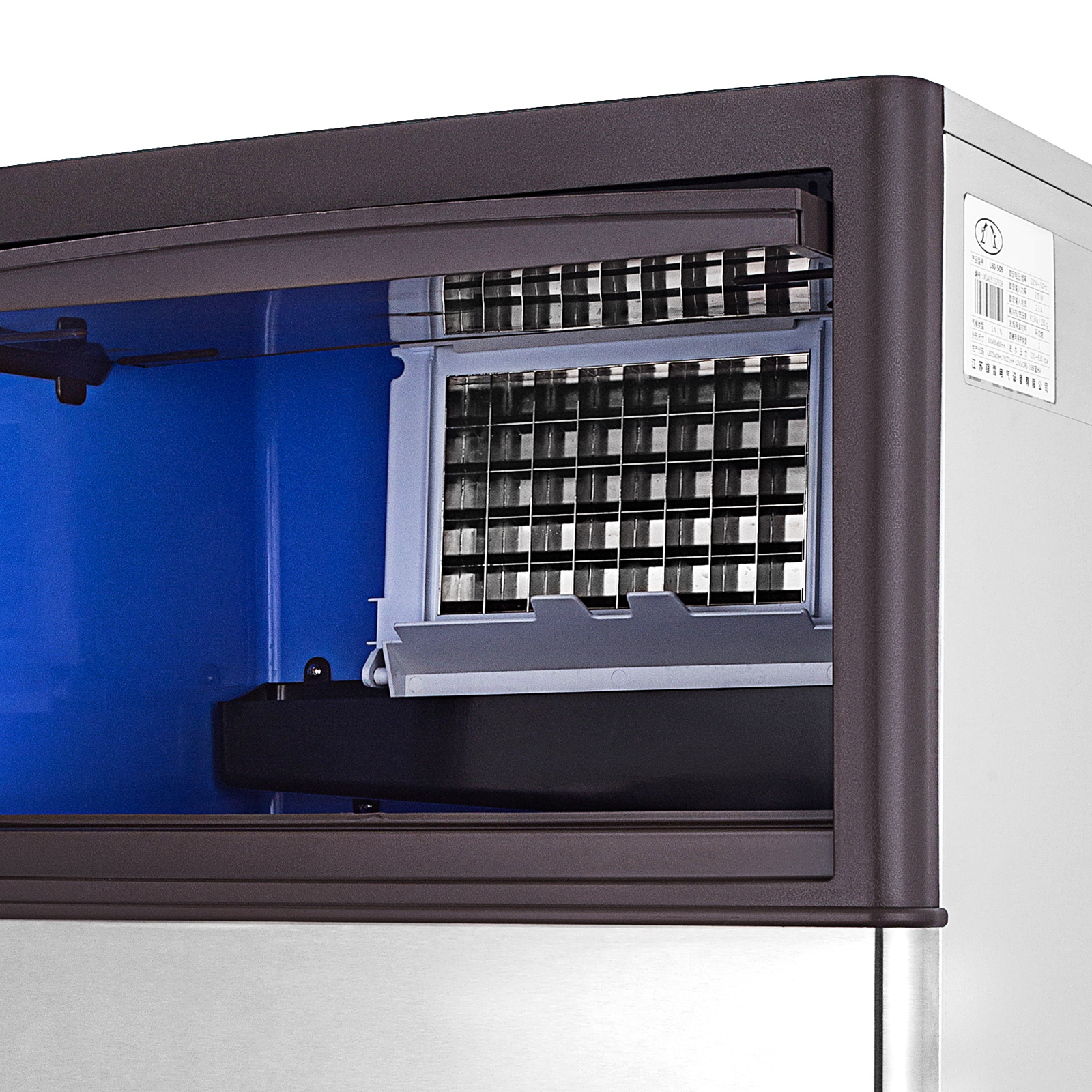 40-55-KG-Intelligent-Ice-Cube-Making-Machine-Bars-Heat-Insulation-Ice-Spoon thumbnail 21