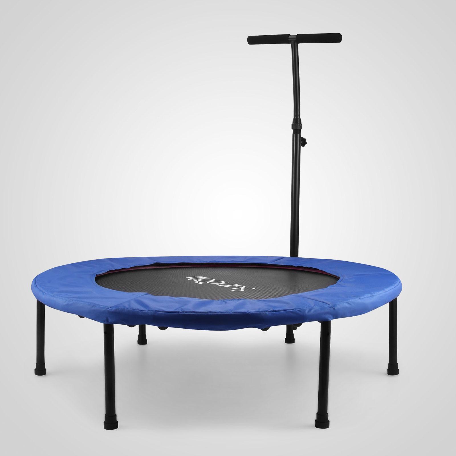 "40"" Fitness Trampoline Multifunction Mini Rebounder"