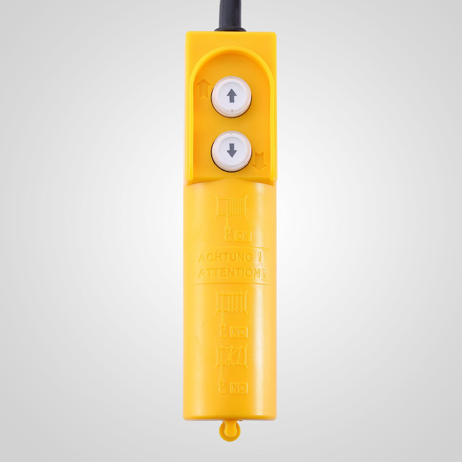 100kg-900kg-Electric-Hoist-Winch-Lifting-Engine-Crane-Cable-Lift-Hook-Garage miniature 23