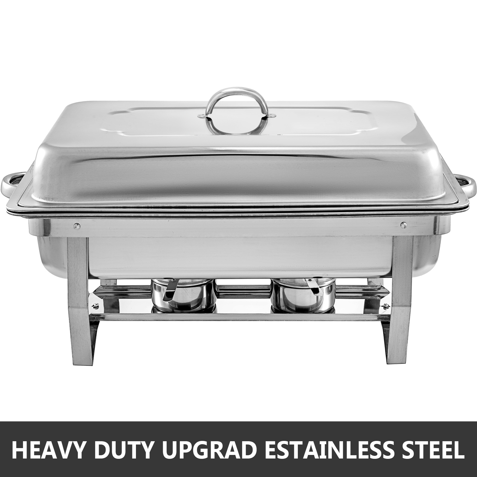 thumbnail 26 - Multi-Stainless-Steel-Chafing-Dish-Bain-Marie-Bow-Catering-Dish-Hotpot-Server