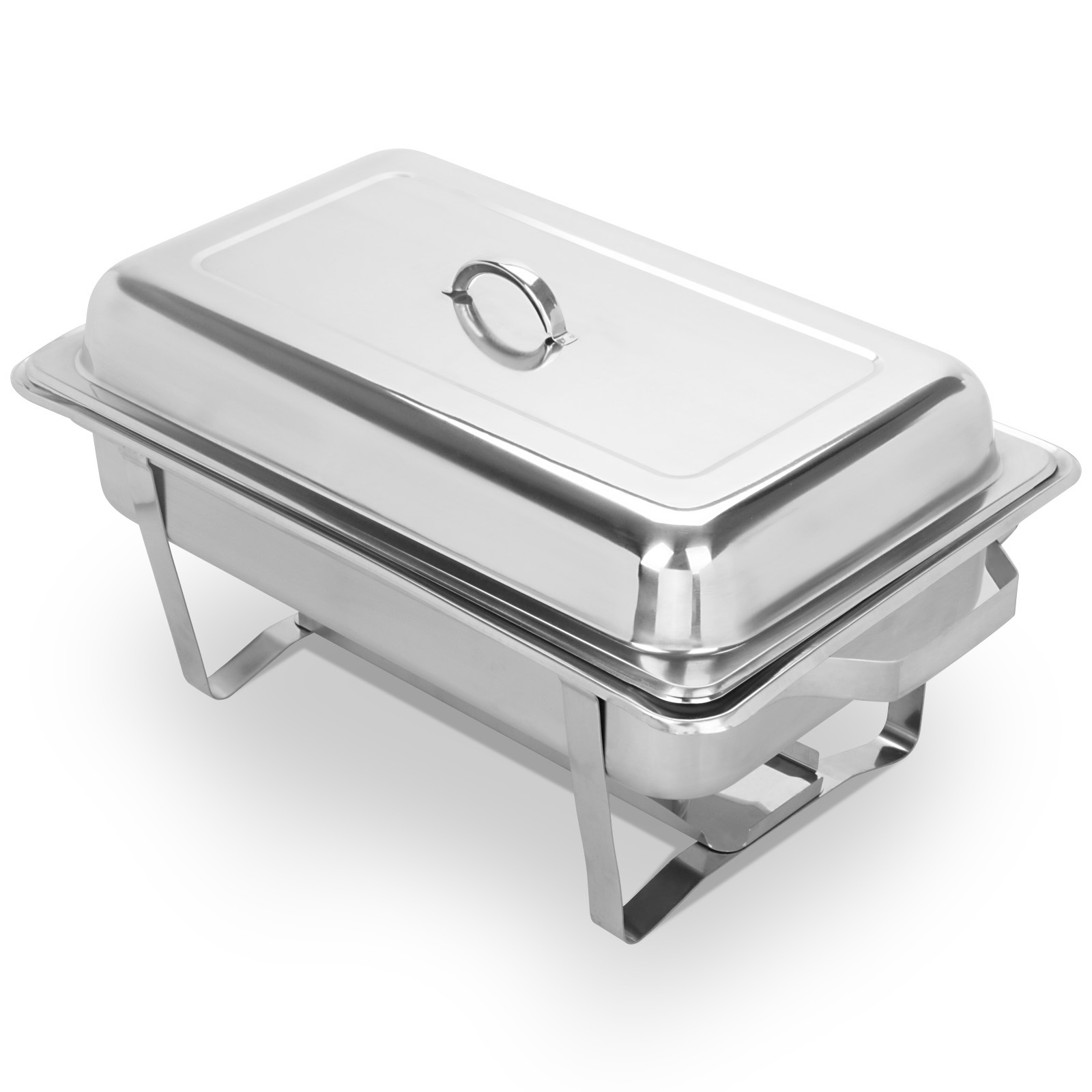 4 pack chafing dish sets buffet catering 9 quart stainless steel rectangular ebay