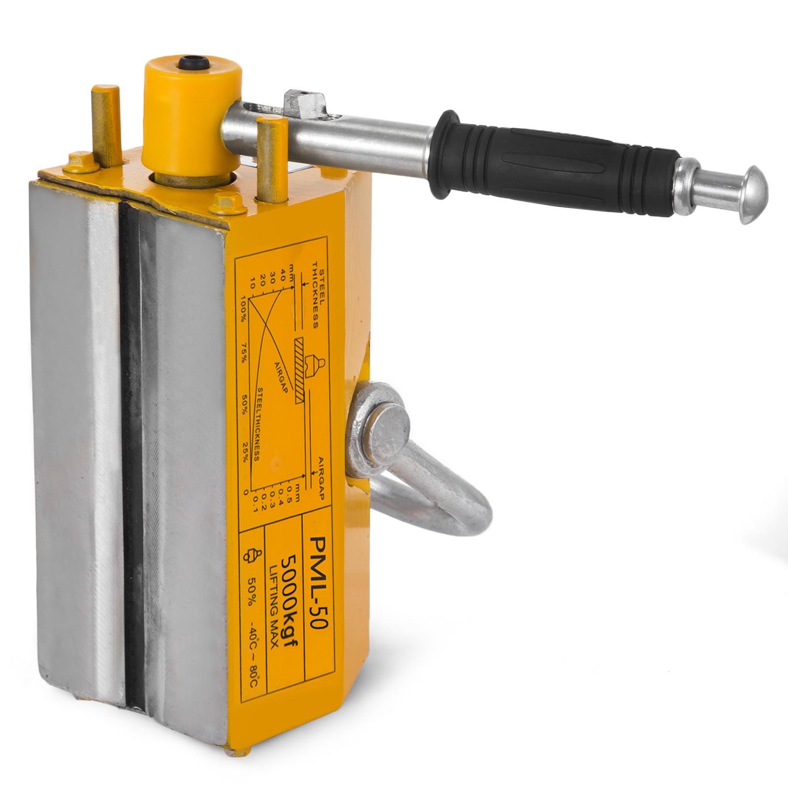 100-300-600-1000KG-Steel-Magnetic-Lifter-Heavy-Duty-Crane-Hoist-Lifting-Magnet miniature 115