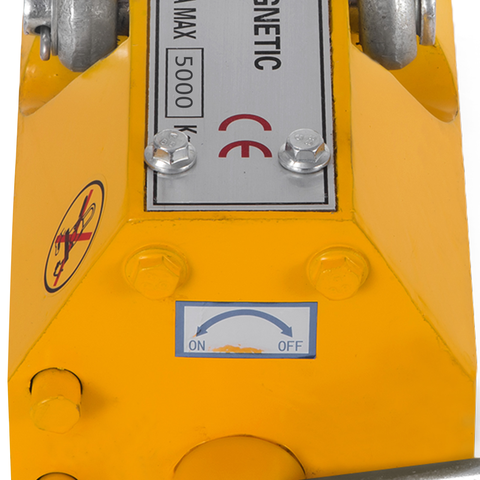 100-300-600-1000KG-Steel-Magnetic-Lifter-Heavy-Duty-Crane-Hoist-Lifting-Magnet miniature 117