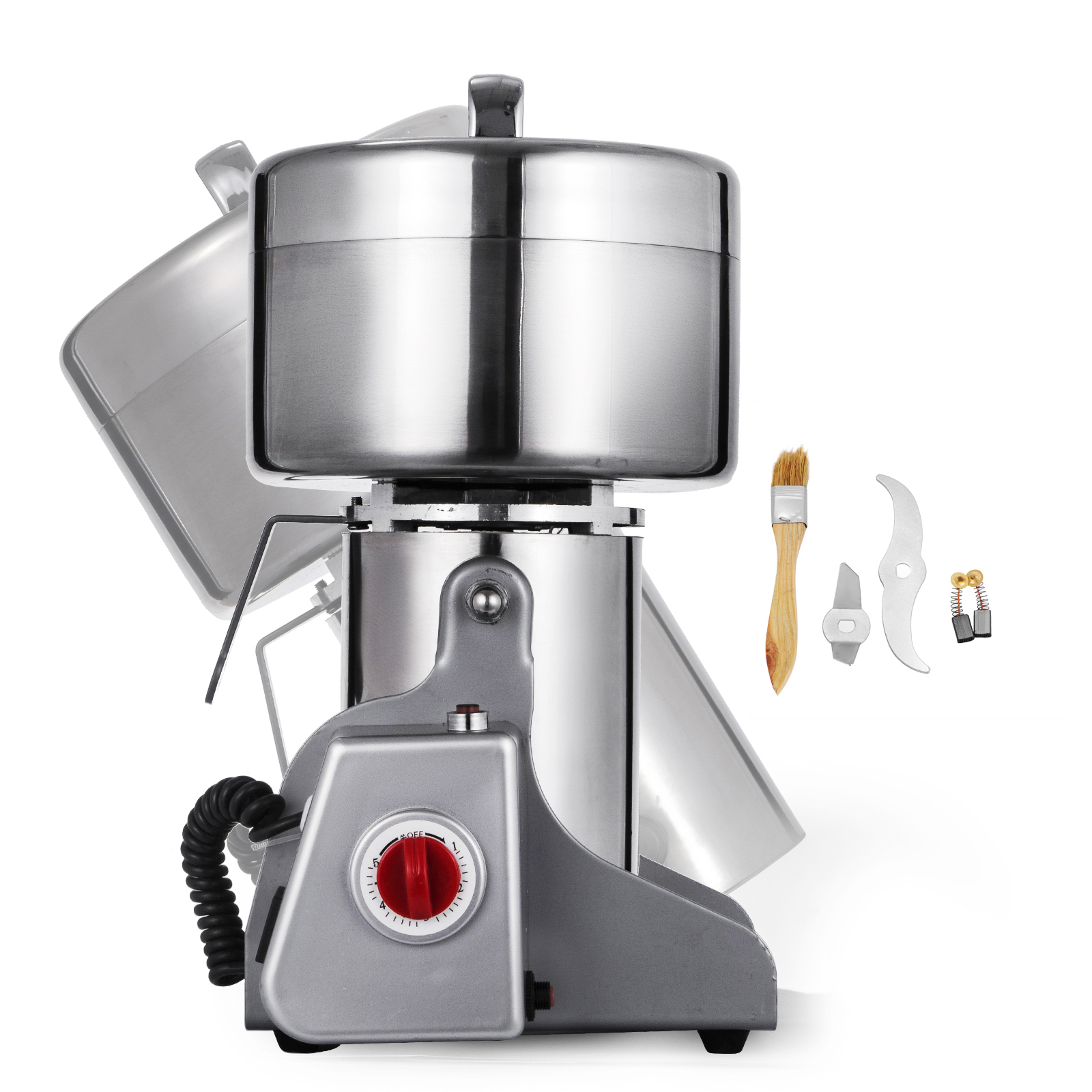 300~2000g Electric Herb Grain Mill Grinder 36000R//MIN stainless steel Coffee