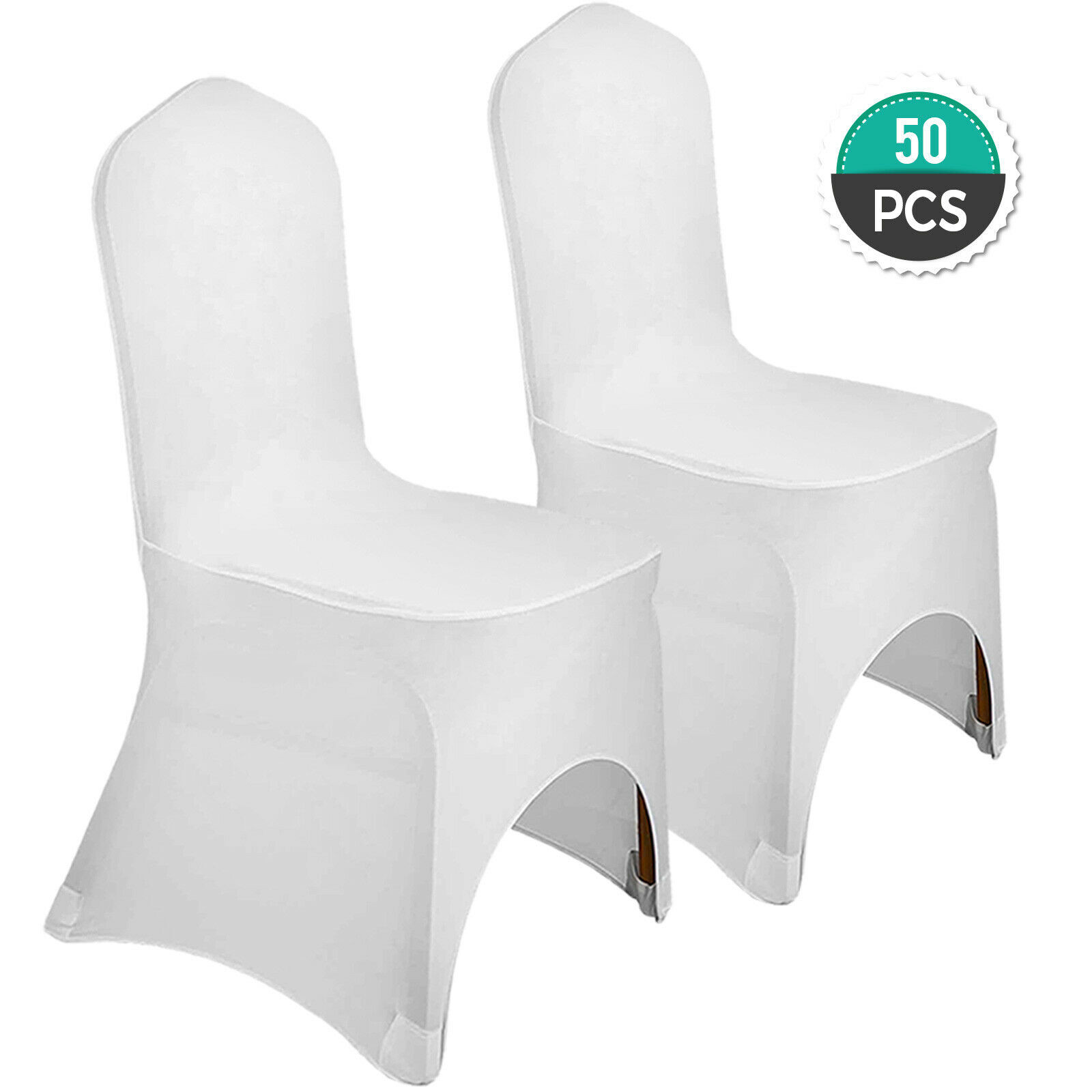 Wedding Supplies 50pcs Stretch Spandex Folding Chair Covers Black Banquet Easy Clean Decoration Home Garden Mbln Org