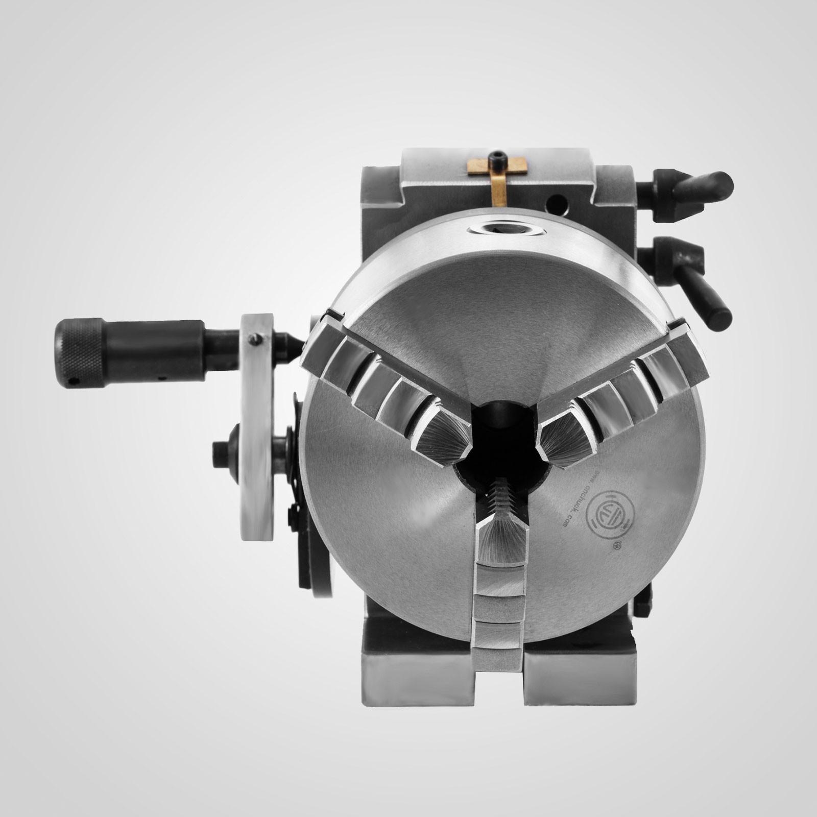 Teilapparat Teilkopf mit Index und 3 B-Futter Reitstock