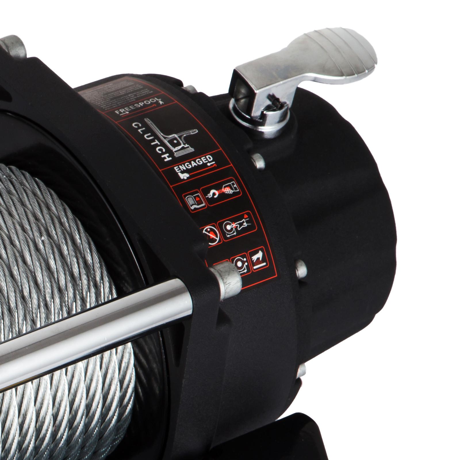 3000-4000-6000-13500LBS-12V-Verricello-elettrico-Filo-Auto-Suv miniatura 46
