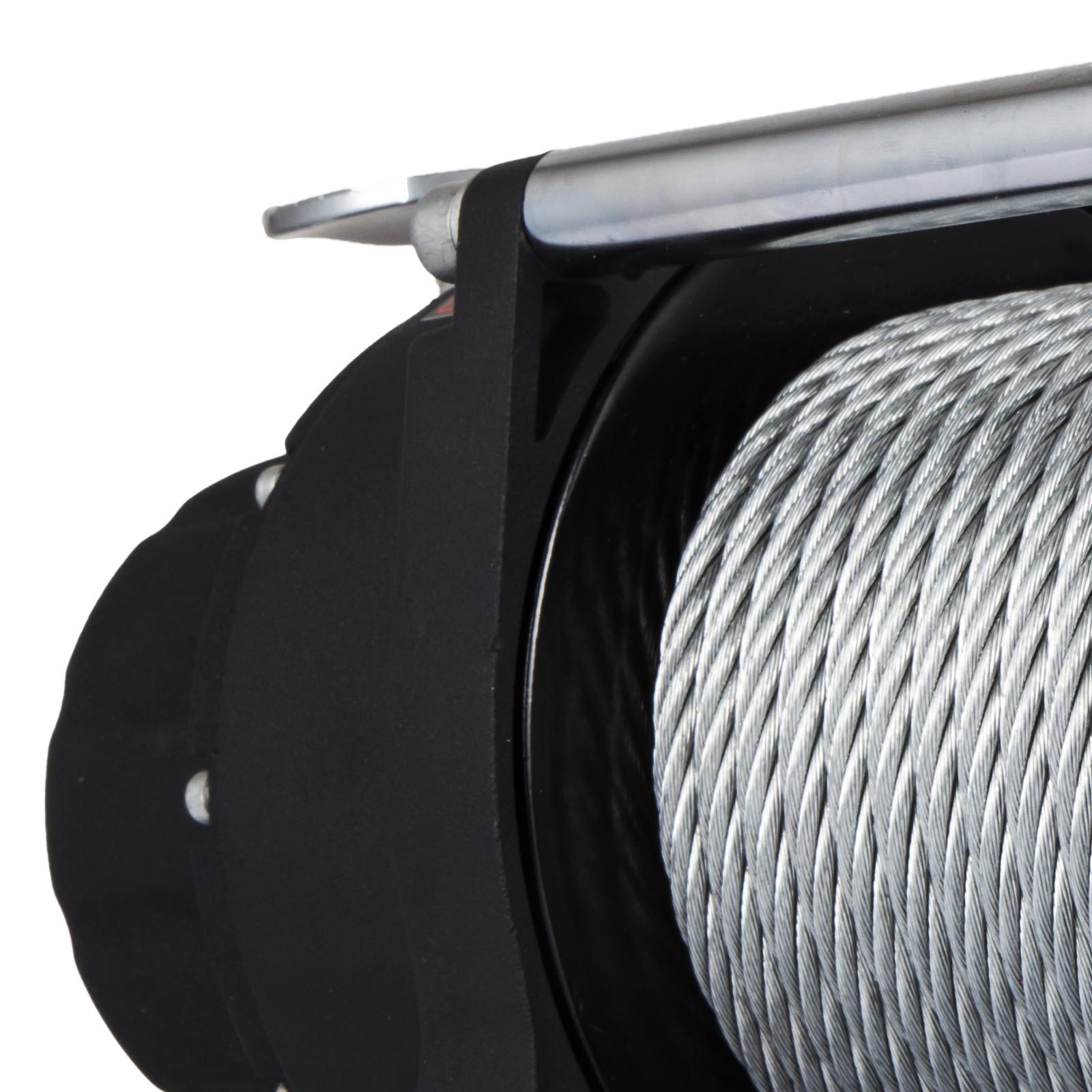3000-4000-6000-13500LBS-12V-Verricello-elettrico-Filo-Auto-Suv miniatura 48