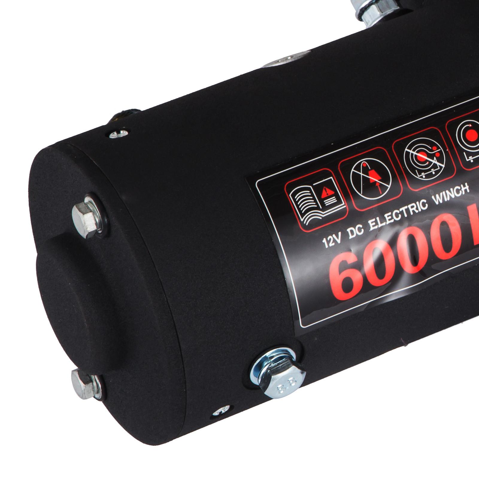 3000-4000-6000-13500LBS-12V-Verricello-elettrico-Filo-Auto-Suv miniatura 44