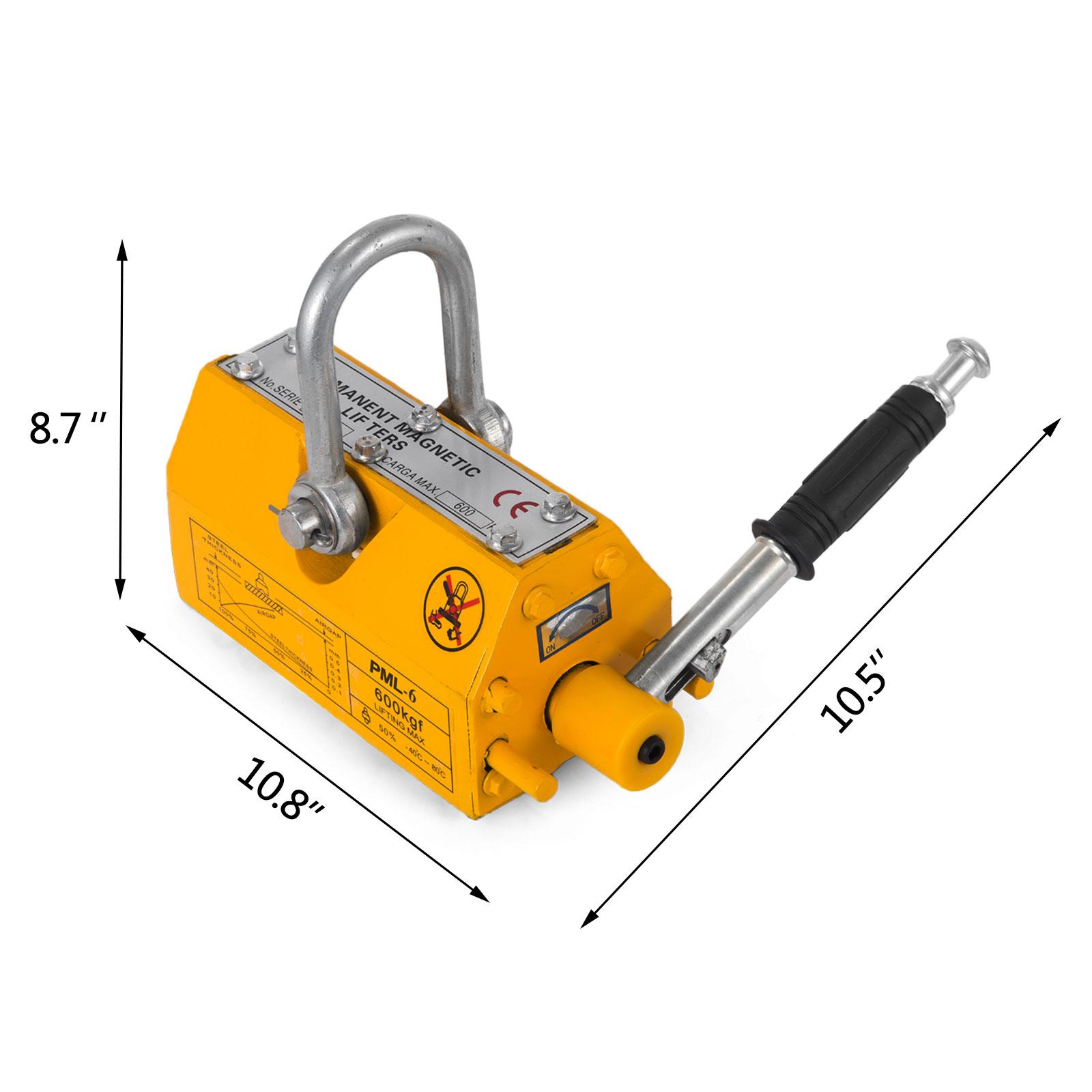 100-300-600-1000KG-Steel-Magnetic-Lifter-Heavy-Duty-Crane-Hoist-Lifting-Magnet miniature 50