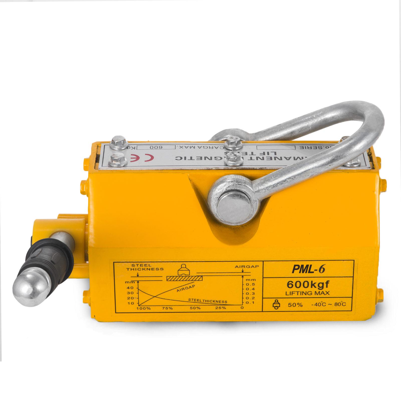 100-300-600-1000KG-Steel-Magnetic-Lifter-Heavy-Duty-Crane-Hoist-Lifting-Magnet miniature 53