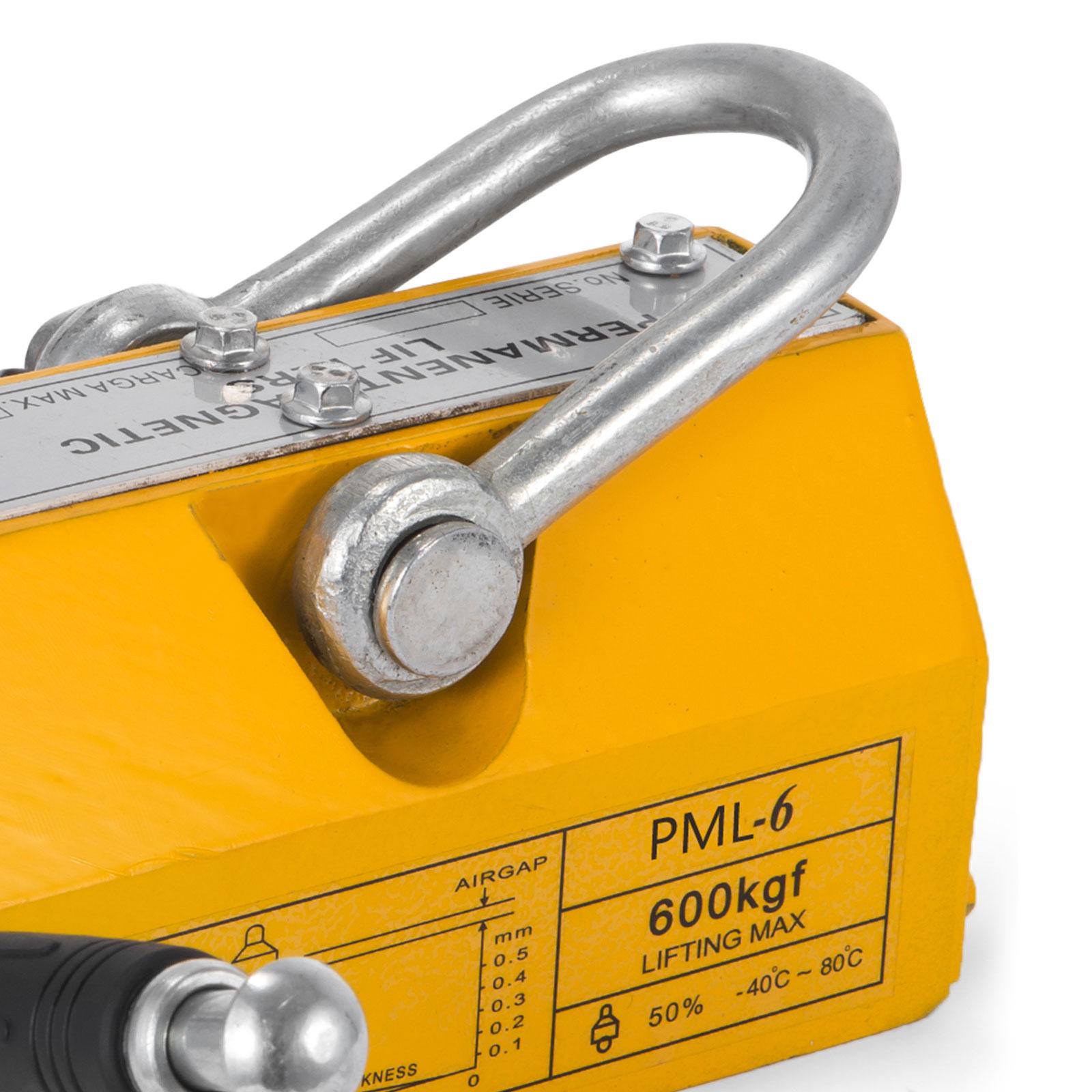 100-300-600-1000KG-Steel-Magnetic-Lifter-Heavy-Duty-Crane-Hoist-Lifting-Magnet miniature 57