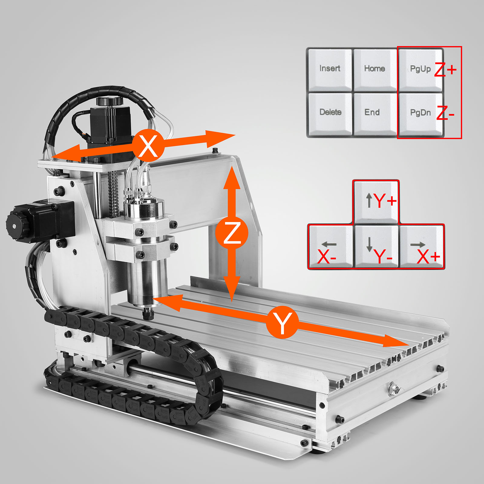 6040t 3 Axis Usb Cnc Router Engraver Engraving Cutter Machine 4 Wiring Diagram Milling Port Ebay