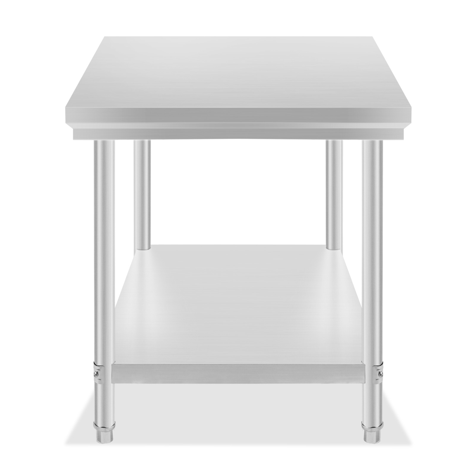 Stainless Steel Catering Table Work Bench Kitchen Back ...