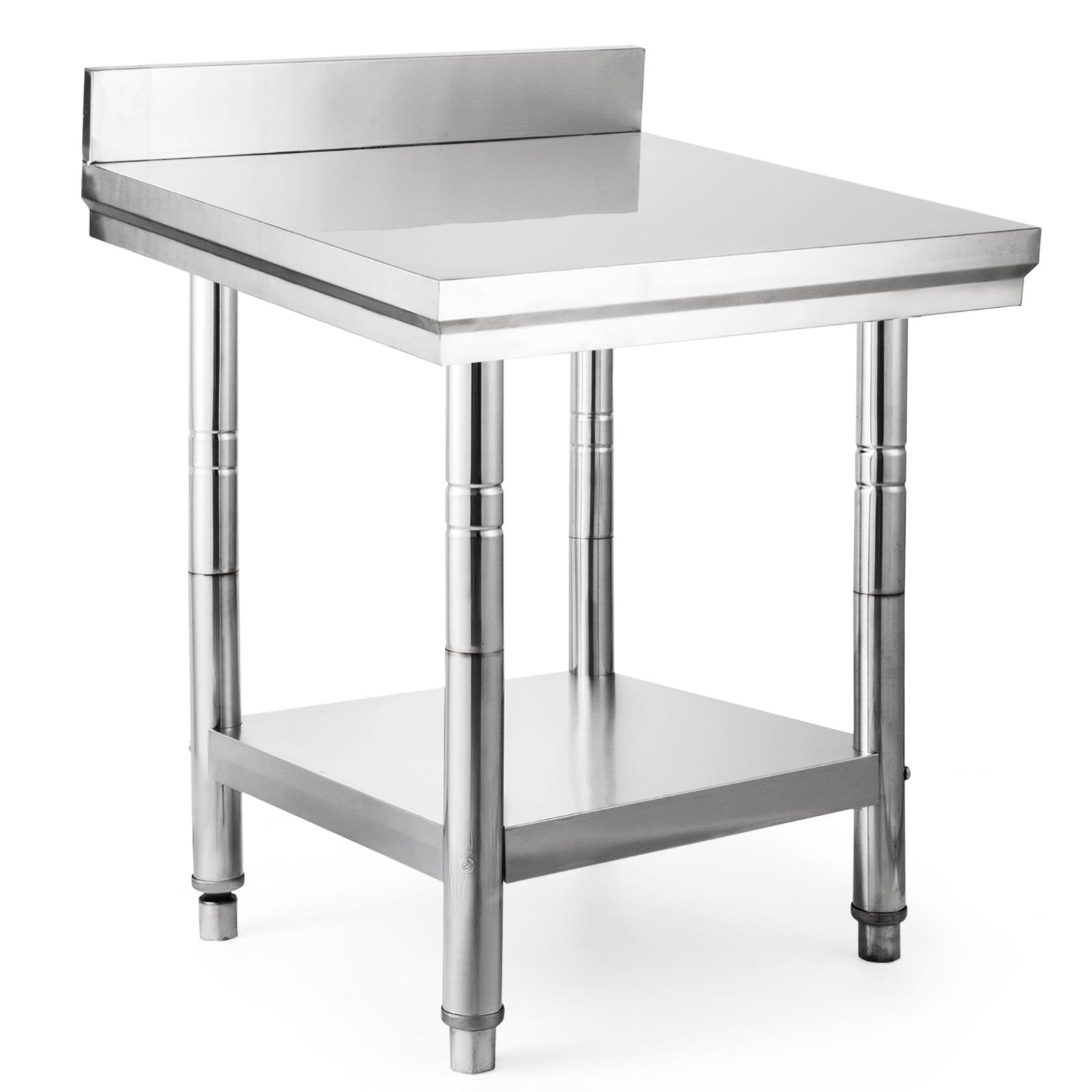 24 x 24 stainless steel kitchen work table commercial kitchen restaurant 2472 848837015619 ebay. Black Bedroom Furniture Sets. Home Design Ideas