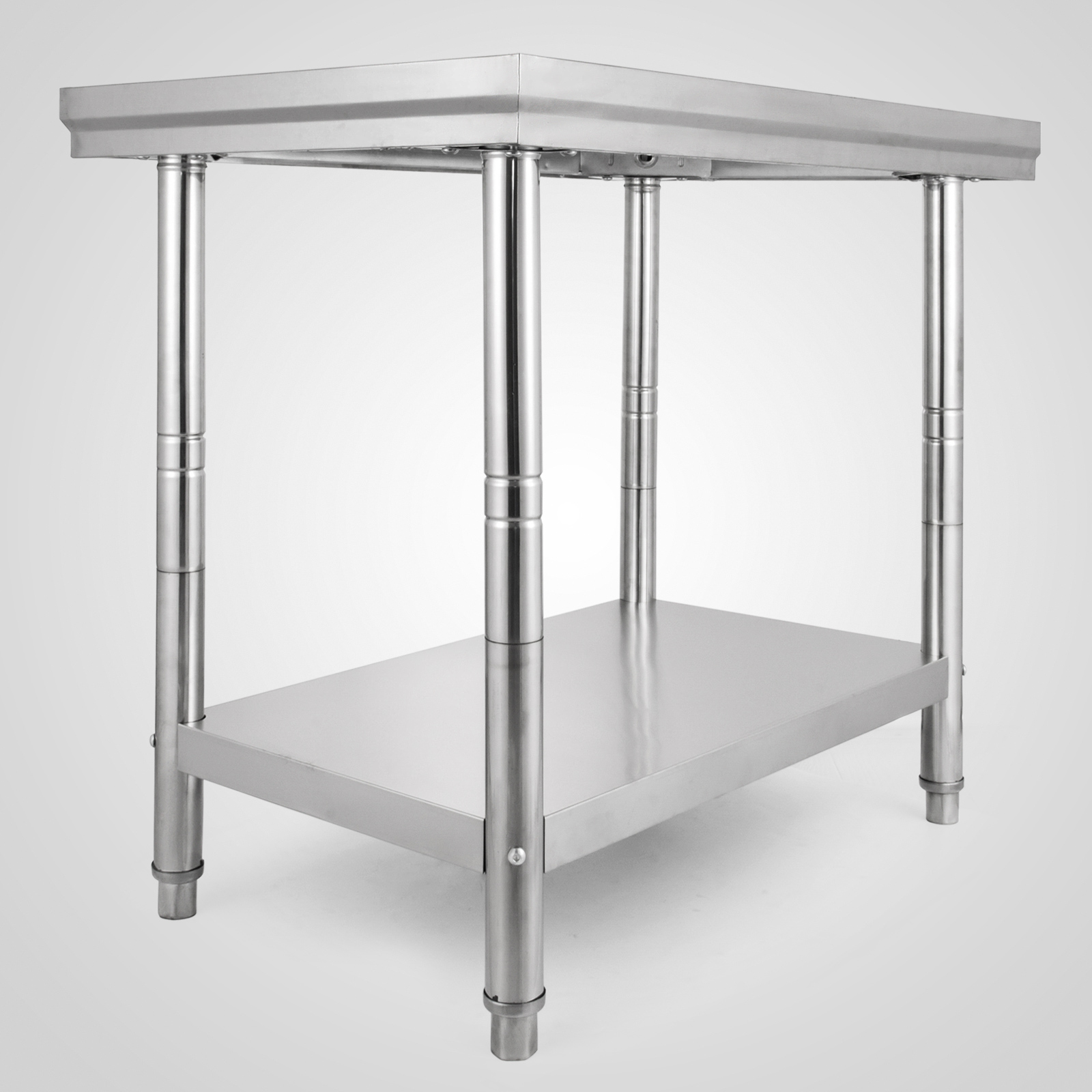 Industrial Kitchen Prep Table: Commercial Stainless Steel Work Bench Kitchen Catering
