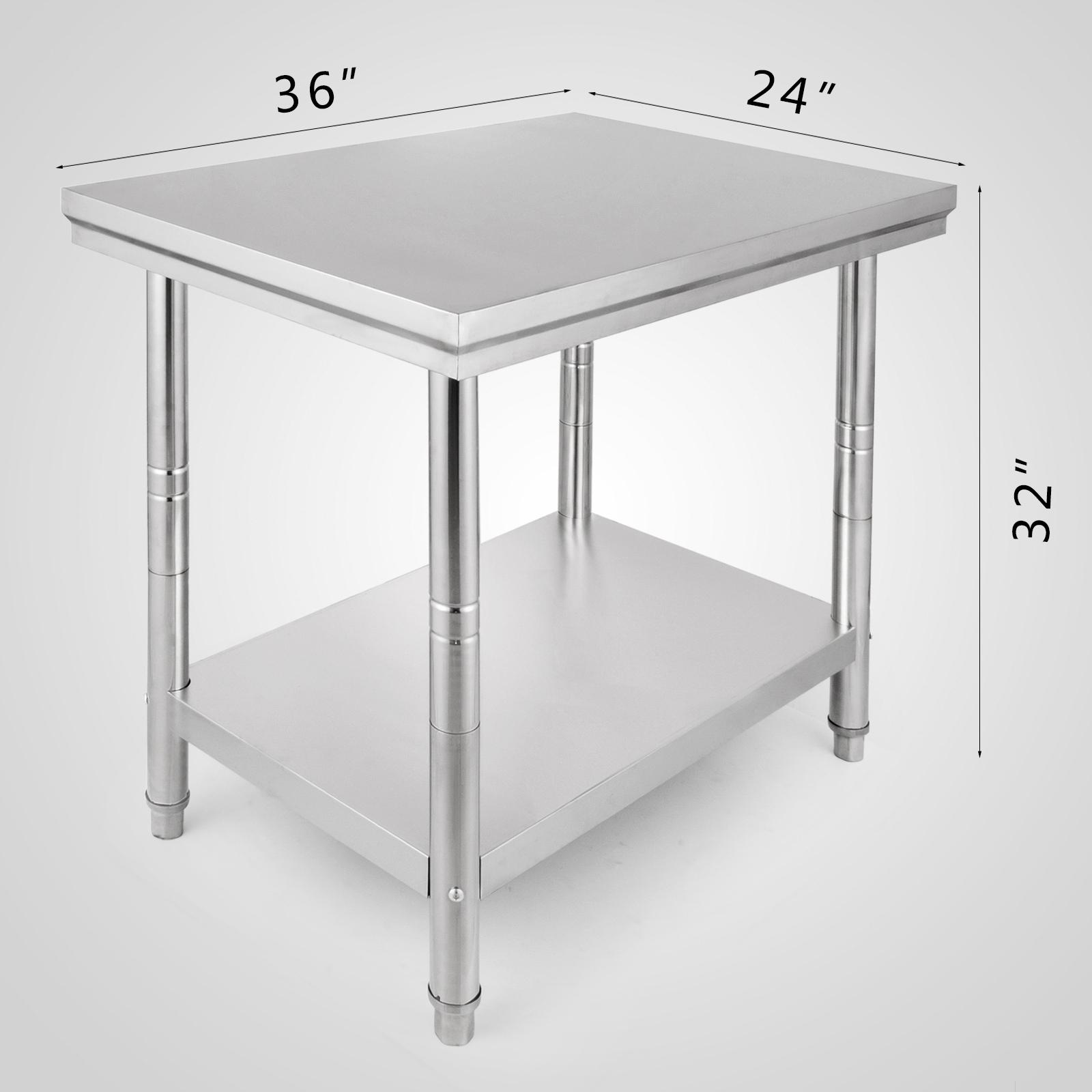 80cm hauteur table de travail inox table de cuisine pliante agent 60 90cm ebay. Black Bedroom Furniture Sets. Home Design Ideas