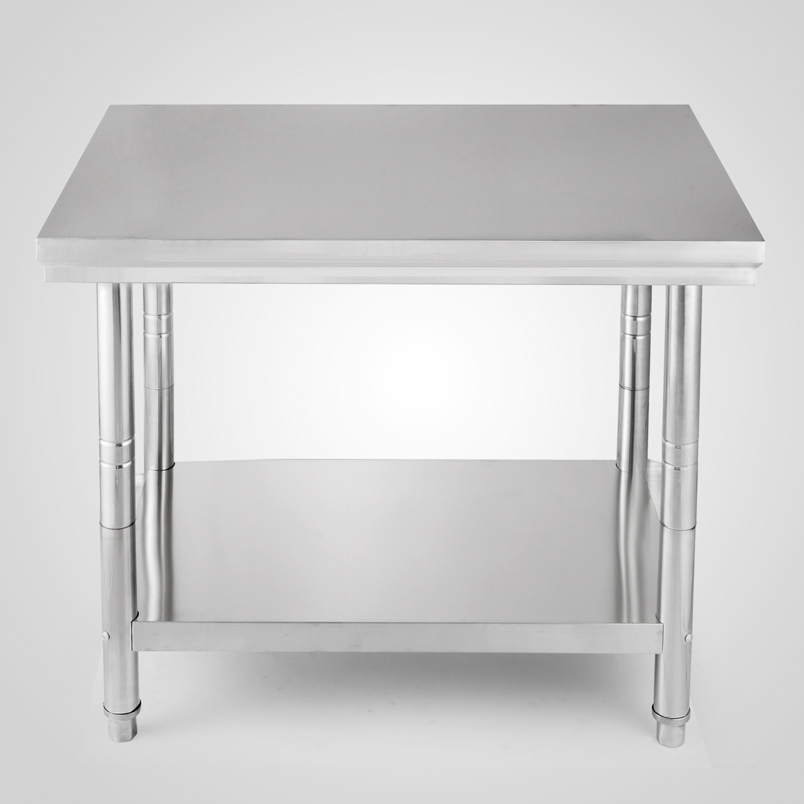 80cm hauteur table de travail inox table de cuisine pliante agent 60 90cm ebay. Black Bedroom Furniture Sets. Home Design Ideas