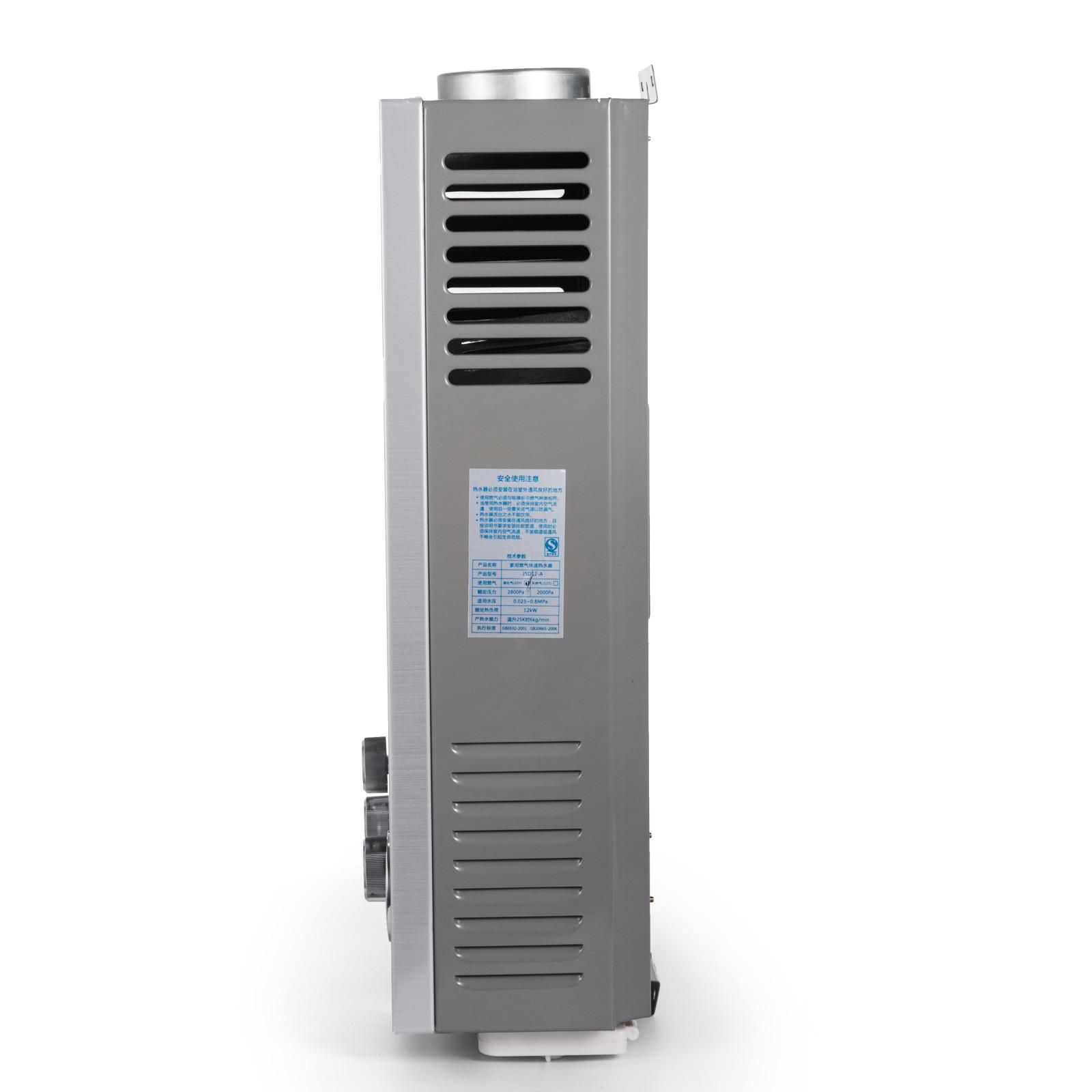 Propangas-Gas-Durchlauferhitzer-Warmwasserbereiter-Boiler-Warmwasserspeicher Indexbild 28