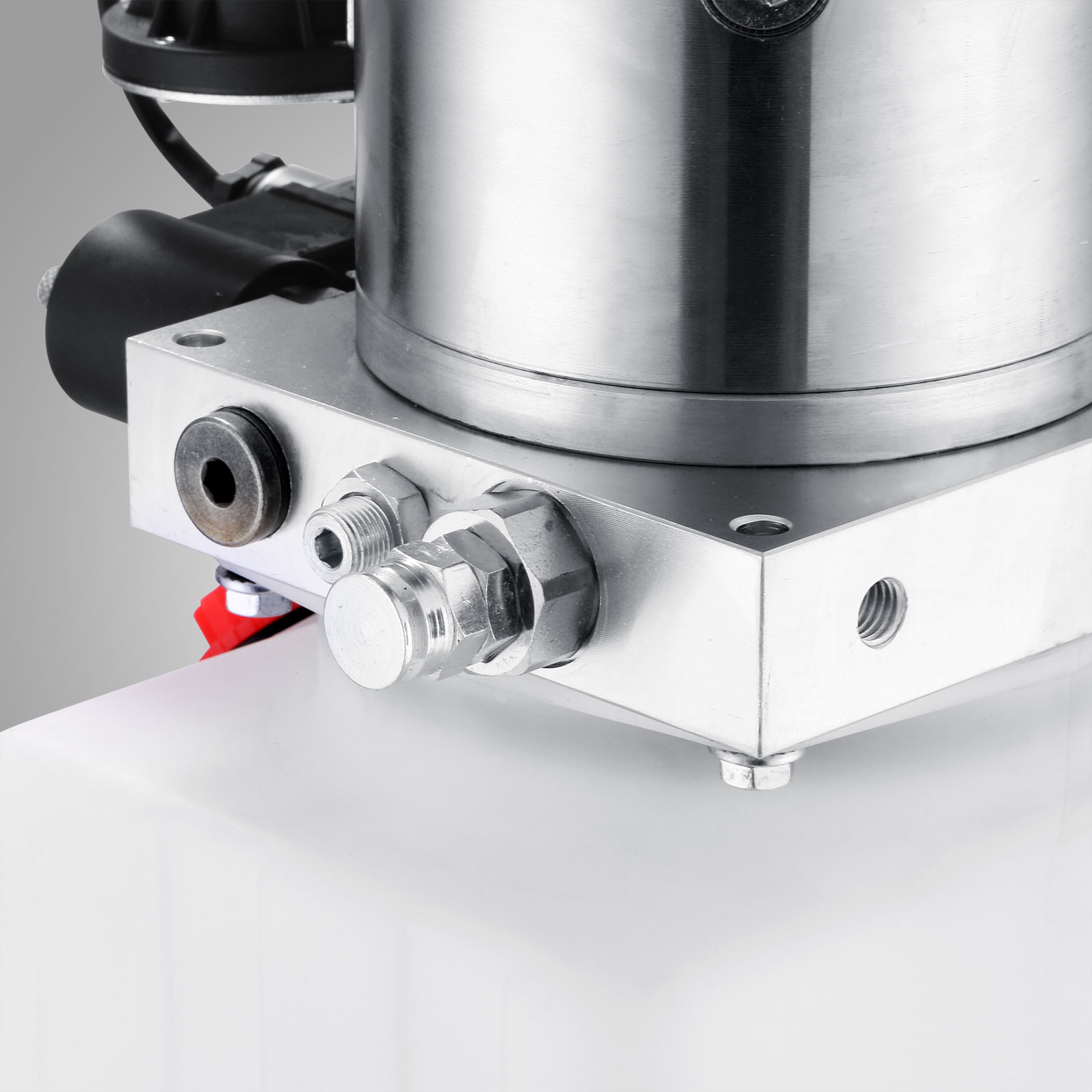 manual hydraulic pump with reservoir