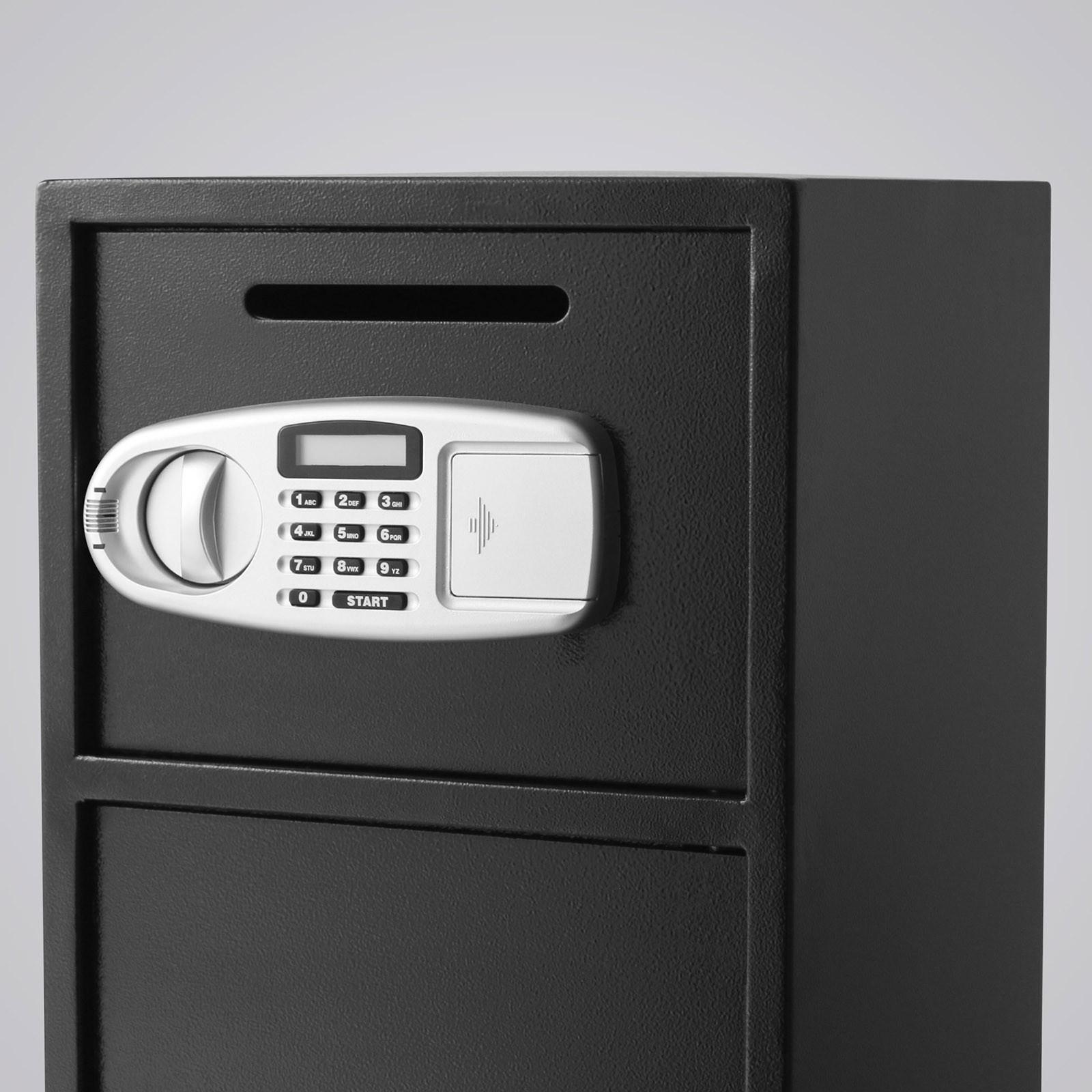 Double Door Digital Safe Depository Drop Box Safes Cash