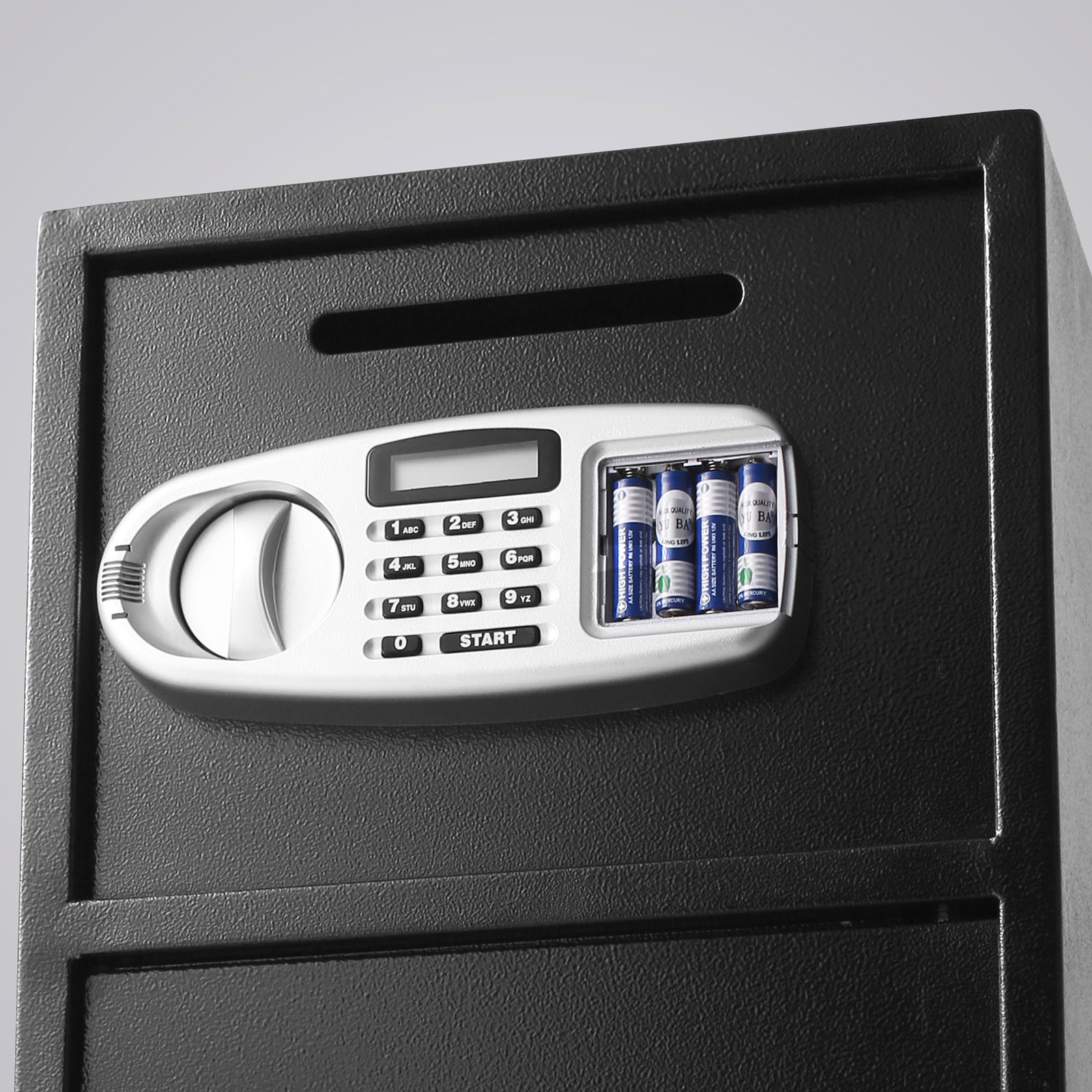 Double Door Digital Safe Depository Drop Box Safes Cash