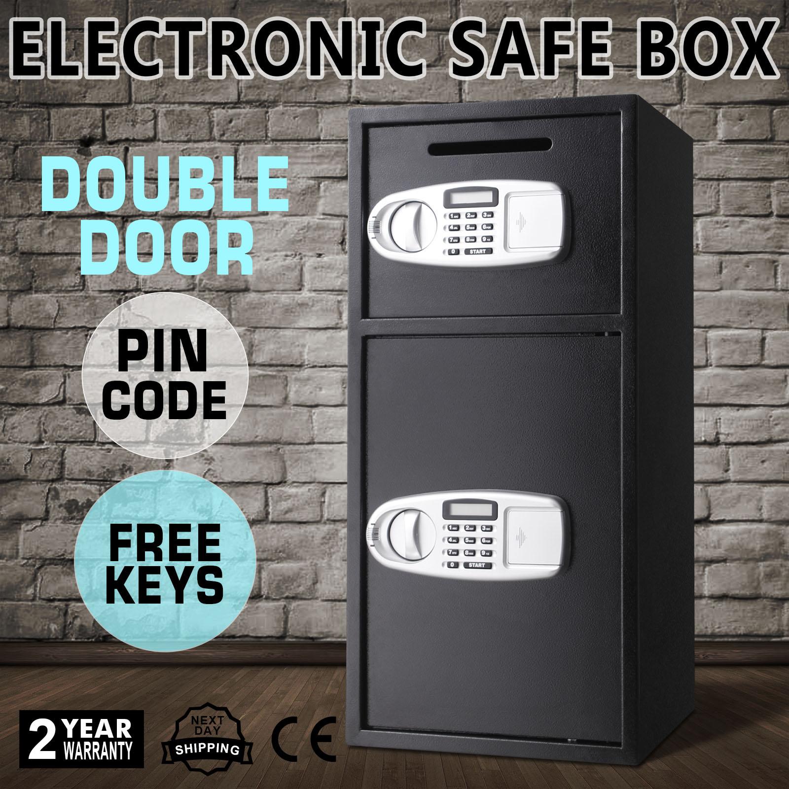 Doppeltür Tresore Safe Waffenschrank Digital Schlüssel ...