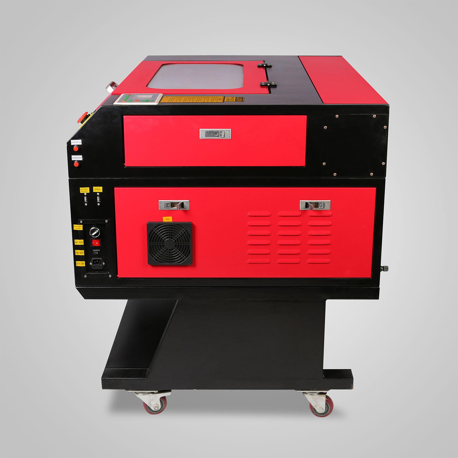 Macchina-per-Incisione-Laser-CO2-40-130W-Asse-Rotante-Tagliatrice-Incisore miniatura 41