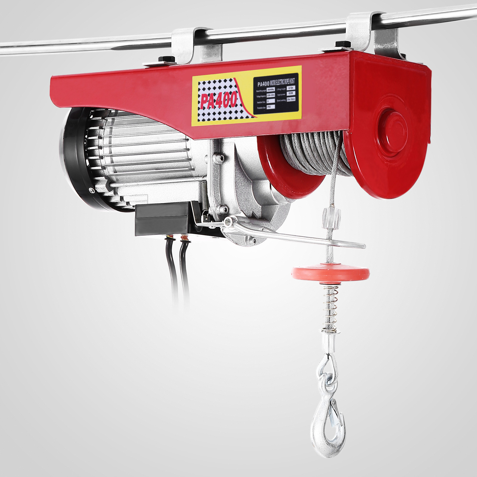 100kg-900kg-Electric-Hoist-Winch-Lifting-Engine-Crane-Cable-Lift-Hook-Garage miniature 27