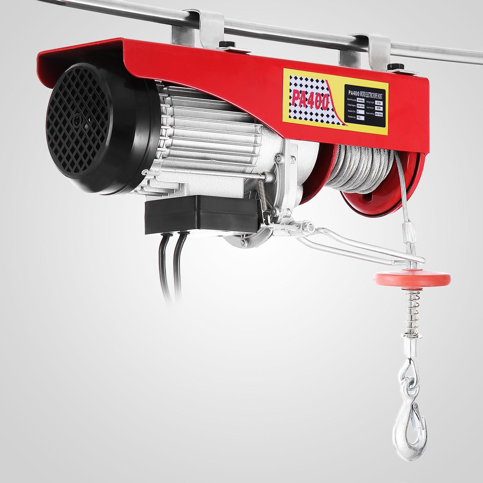 100kg-900kg-Electric-Hoist-Winch-Lifting-Engine-Crane-Cable-Lift-Hook-Garage miniature 29