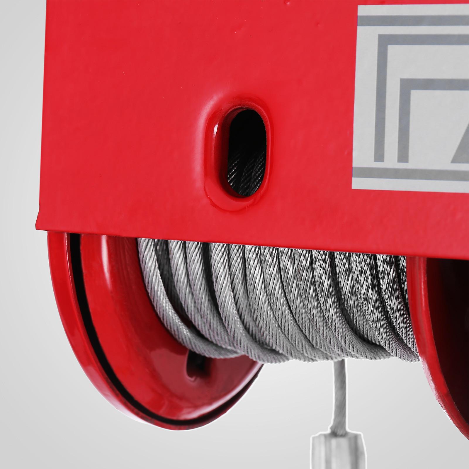 100kg-900kg-Electric-Hoist-Winch-Lifting-Engine-Crane-Cable-Lift-Hook-Garage miniature 32