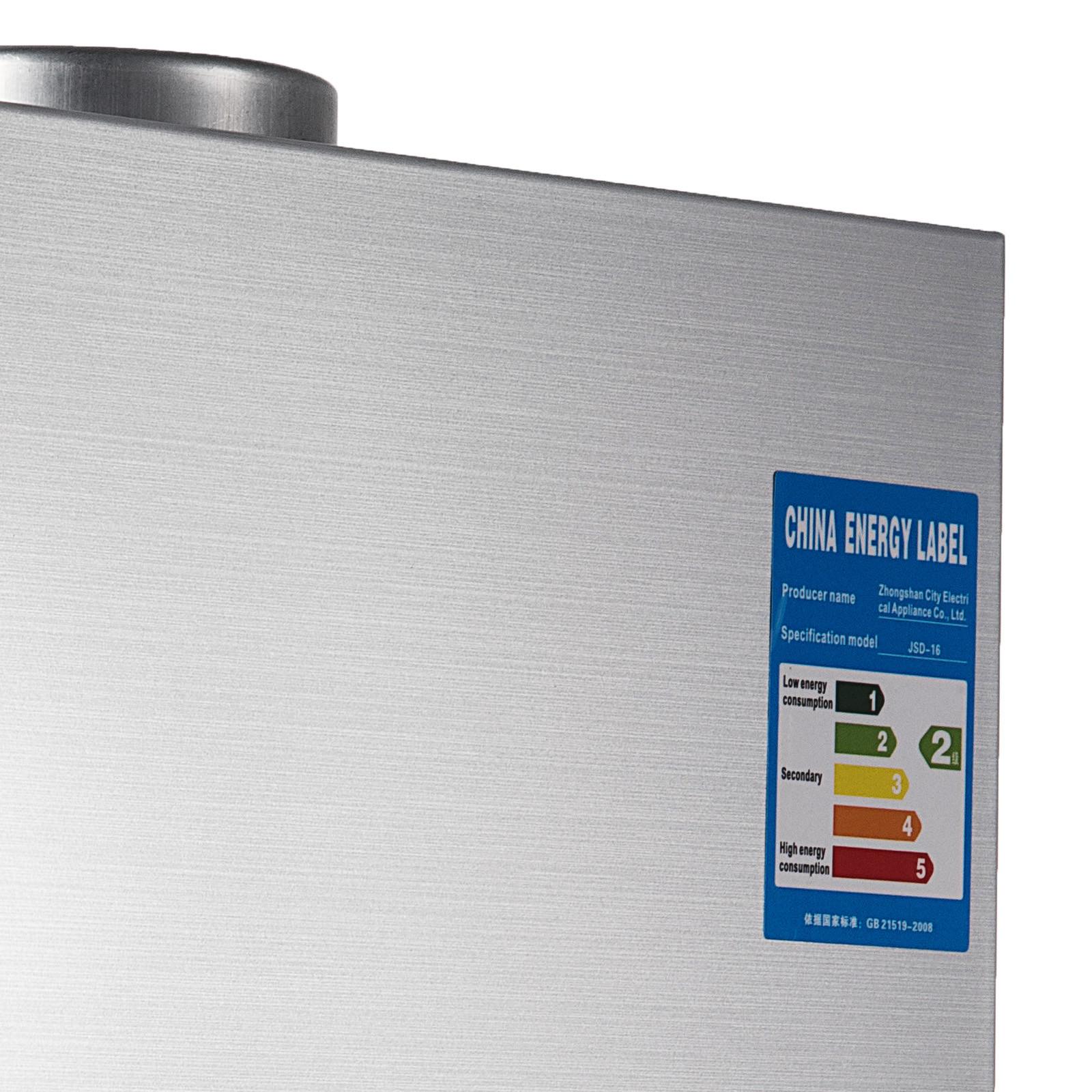 Propangas-Gas-Durchlauferhitzer-Warmwasserbereiter-Boiler-Warmwasserspeicher Indexbild 43