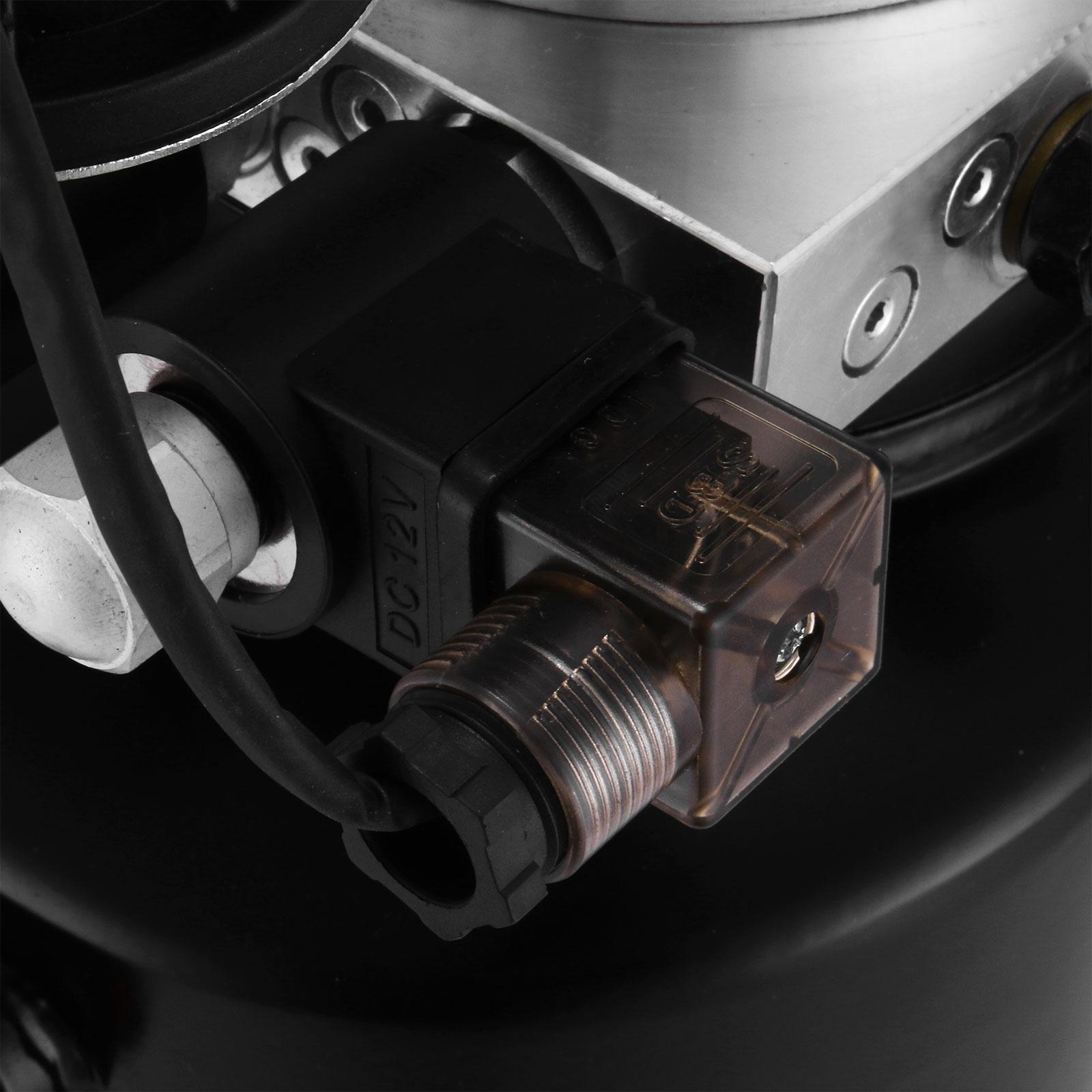 12v double effet unit pompe hydraulique 8 litres benne puissance lectrique ebay. Black Bedroom Furniture Sets. Home Design Ideas