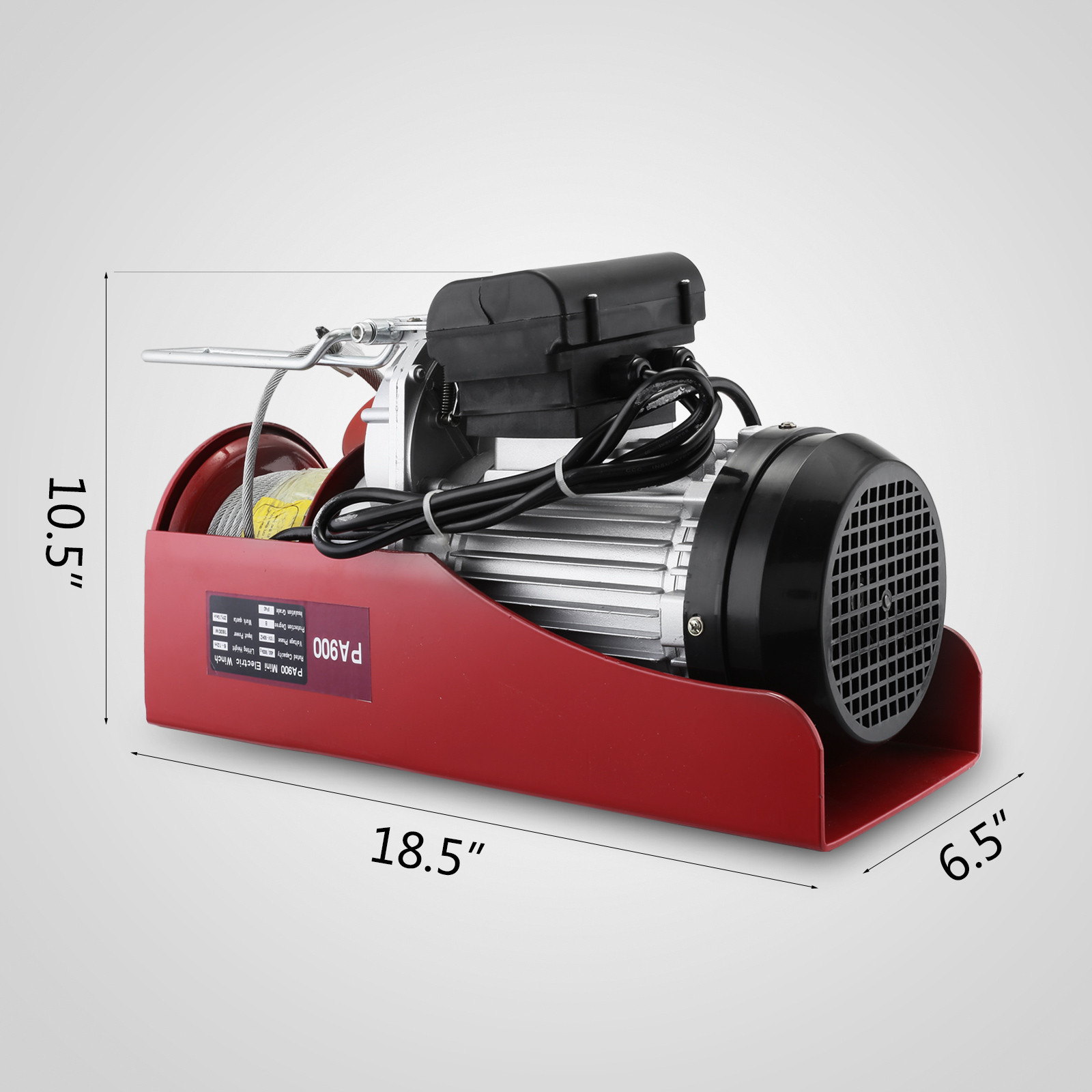 100kg-900kg-Electric-Hoist-Winch-Lifting-Engine-Crane-Cable-Lift-Hook-Garage miniature 62