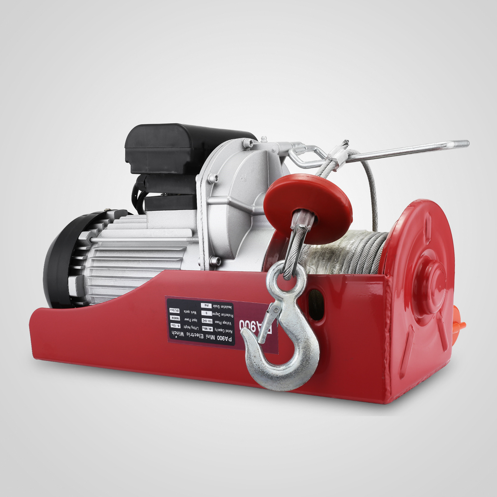 100kg-900kg-Electric-Hoist-Winch-Lifting-Engine-Crane-Cable-Lift-Hook-Garage miniature 64