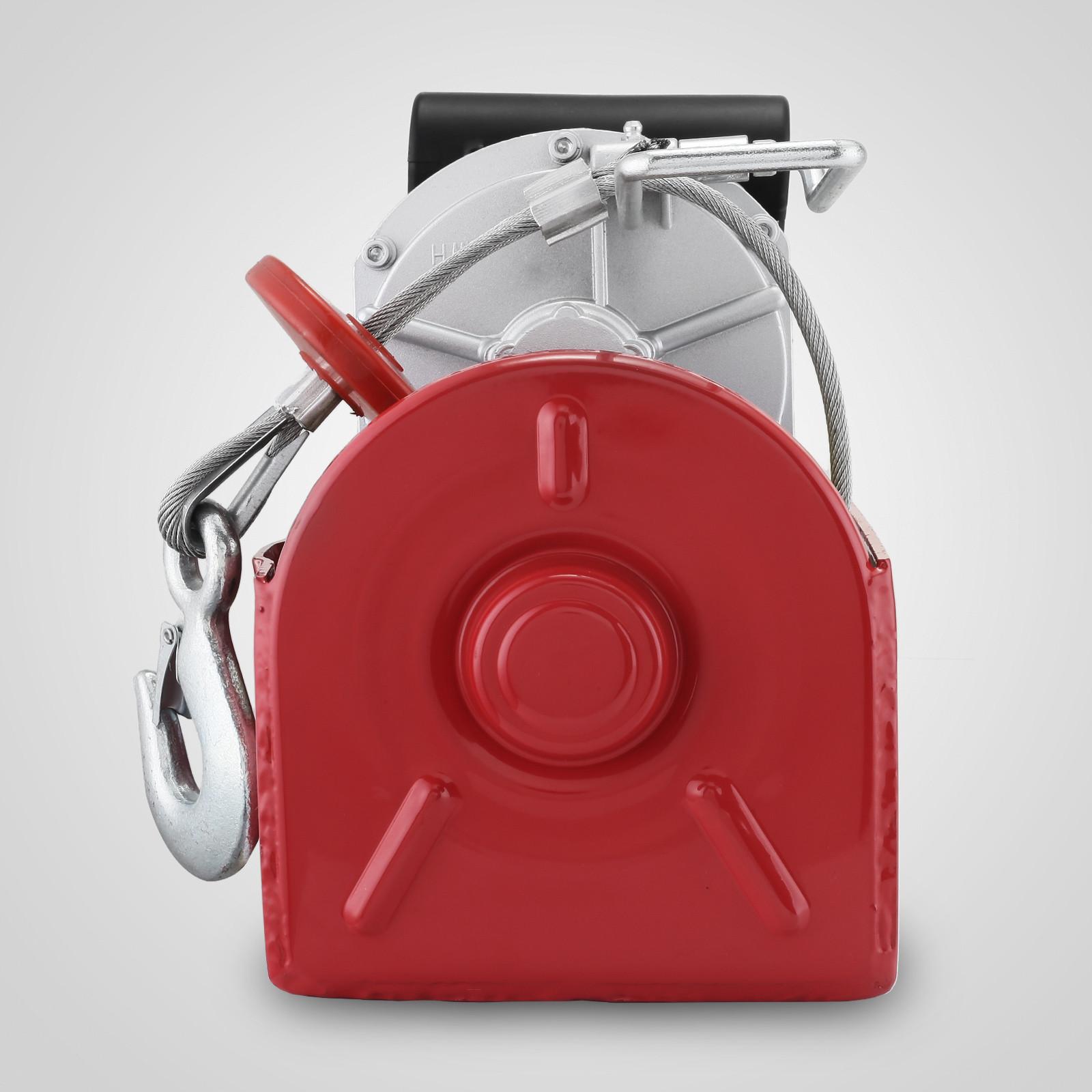 100kg-900kg-Electric-Hoist-Winch-Lifting-Engine-Crane-Cable-Lift-Hook-Garage miniature 65